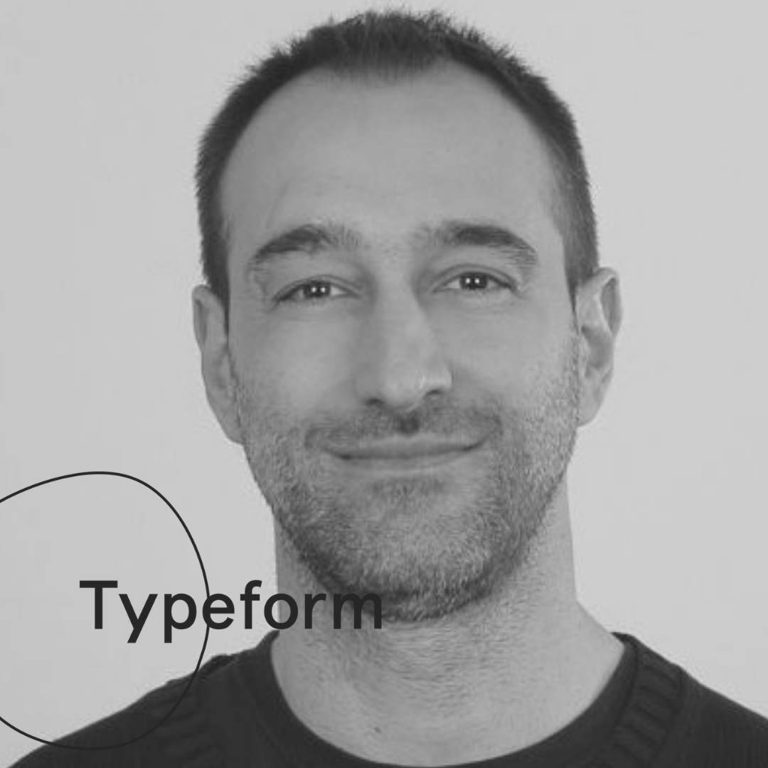 Alessandro Pregnolato   DIRECTOR OF ANALYTICS AT TYPEFORM
