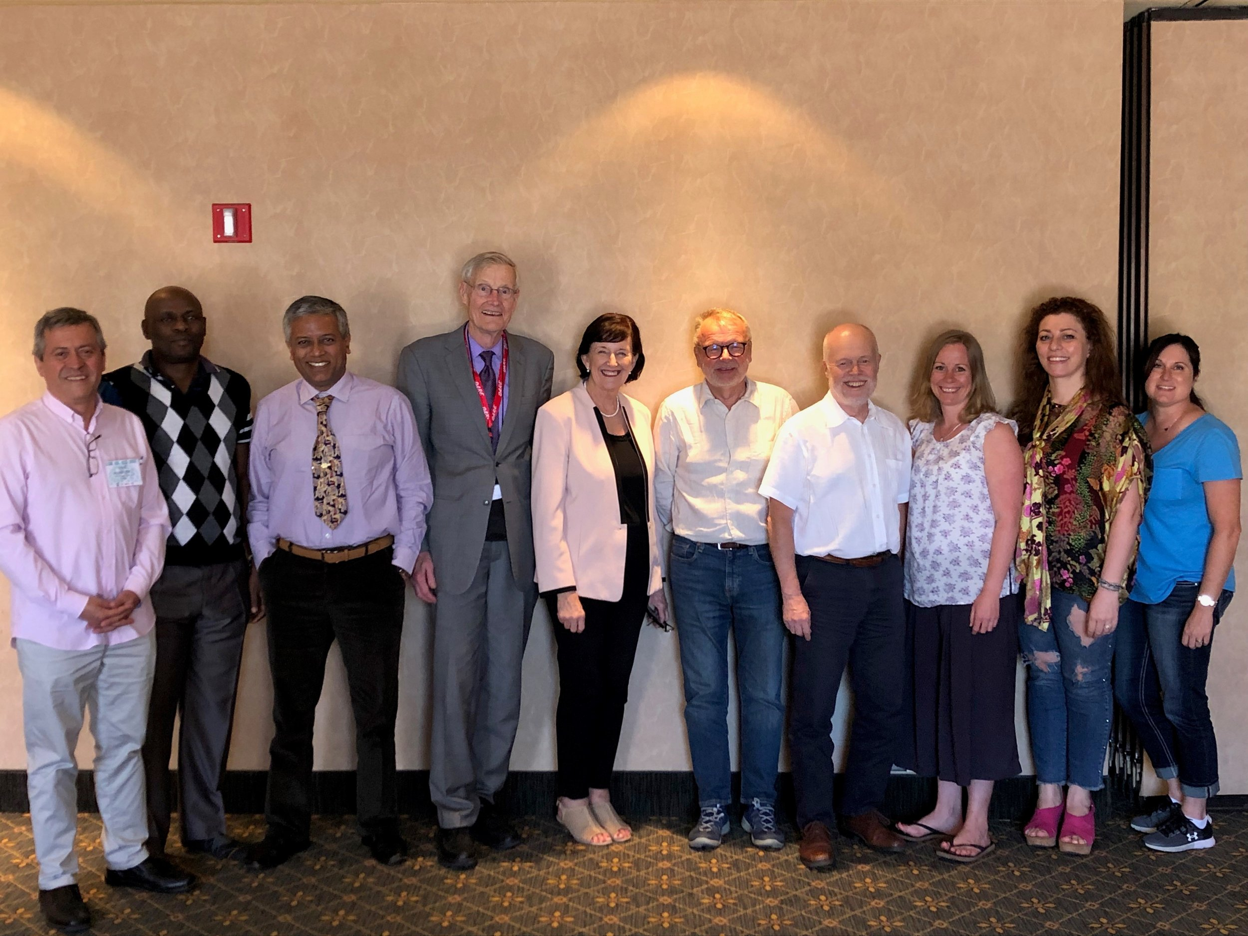 Members of the WFAD Board of Directors