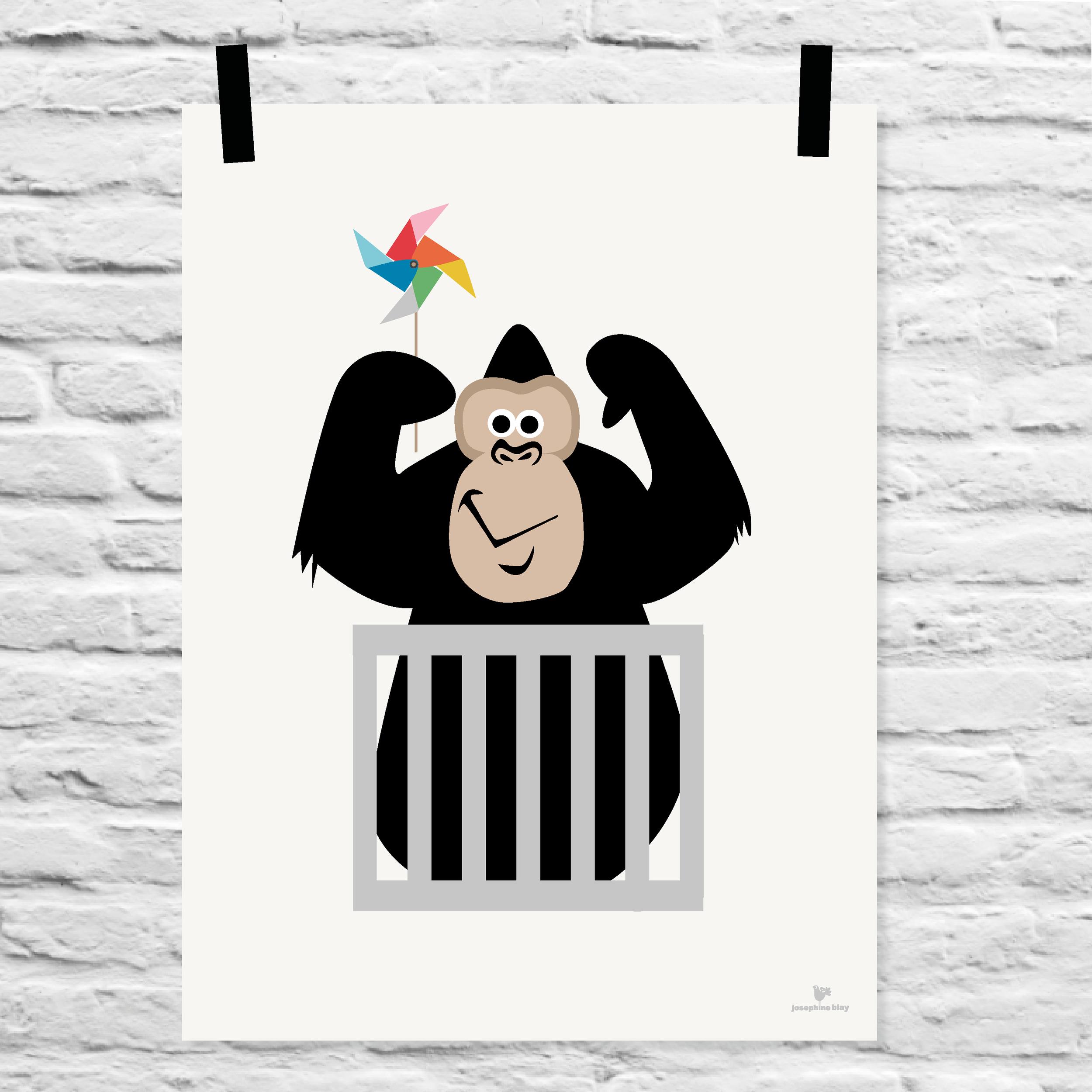 josephineblay-artprint-gorilla-wall.png