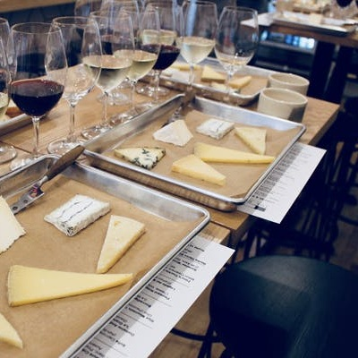 - Wine + cheese = everything.5 cheese + 5 wines.Cheese and wine is always fun, but certain combinations will bring out new flavors in both that will make your taste buds sing. Join The Rhined's owner and Certified Cheese Professional®, Stephanie Webster, and wine expert and enthusiast, Un Jin Saffles of Vintner Select, as we pair 5 wines with 5 cheeses and learn insider tips on how to find the perfect pairing on your own.