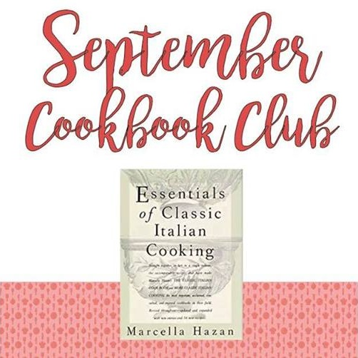 - In September, we'll be cooking from Marcella Hazan's [Essentials of Classic Italian Cooking. In her lifetime, Hazan was a well-respected writer & master of Italian Cooking. Her Essentials of Classic Italian Cooking is an exceptional & comprehensive guide to the beloved cooking food of Italy.Whether you're a cookbook enthusiast or a cooking novice, Cookbook Club is the place to meet other food lovers & home chefs, and help expand your recipe repertoire. Essentially, it's a themed potluck where everyone brings a different dish from the same cookbook. Each month we choose a different book — anything from old-school classics to this year's hottest read! Join us as we explore a wide variety of cuisines and cultures through the eyes of some of the world's most influential chefs and authors.Click here for tickets