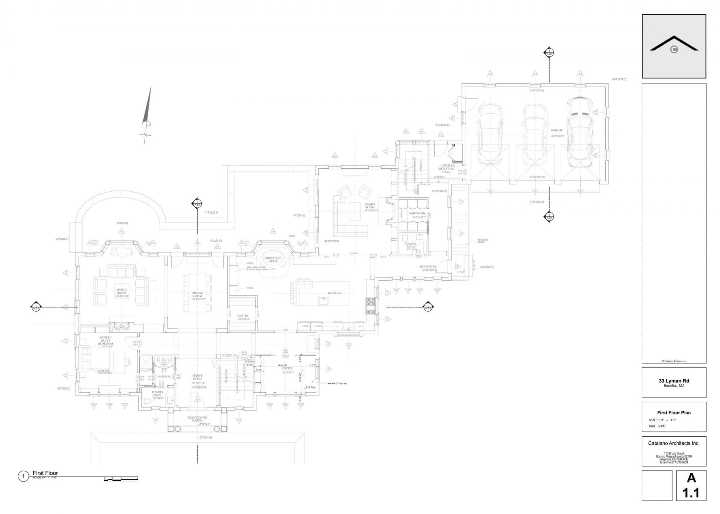 Floor Plans — 33 Lyman Road