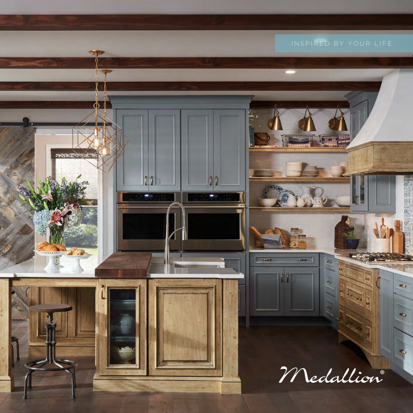 Medallion Cabinetry - Like your family, the Elkay family has values and traditions that endure. For almost a century, Elkay has been an American-owned and operated company, providing thousands of jobs that support our families and communities.The Cabinet Shop is proud to be Medallion's largest dealer in the midwest!