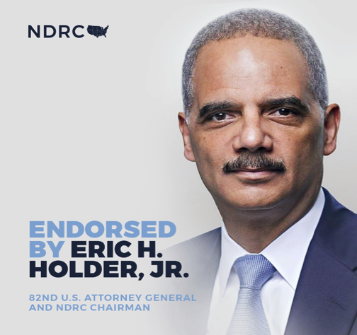 Former U.S. Attorney General Eric Holder  and the  National Democratic Redistricting Committee