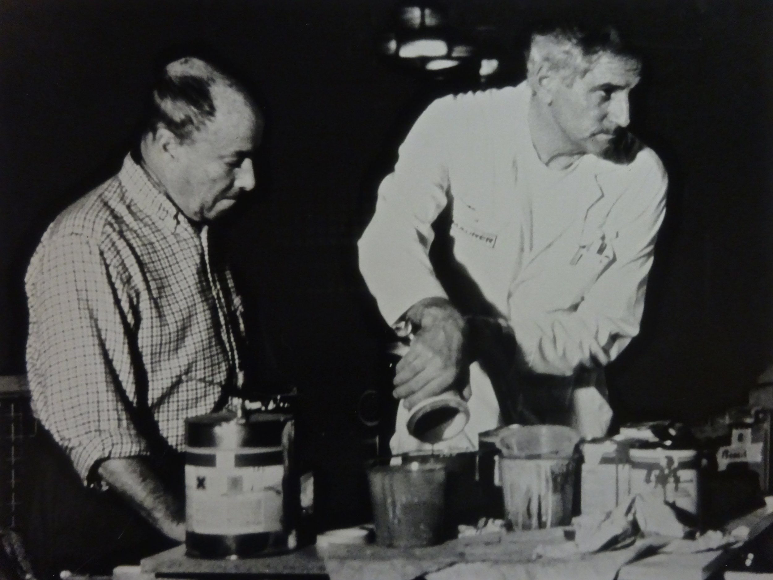 César Manrique and Walter Maurer