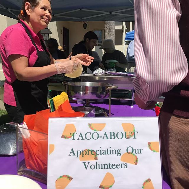 A delicious conclusion to #volunteerappreciationweek at #montevistagrovehomes !