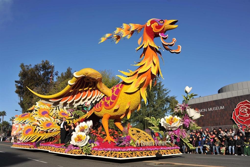 Rose Parade Preferred - 2 Preferred Rose Parade seats and parking pass. A Pasadena classic!Valued at $160Starting bid $80