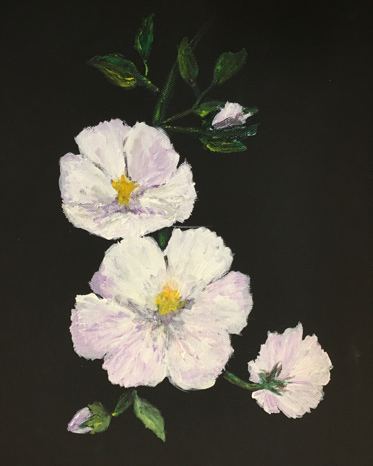 "Flowers - Original oil painting by resident Dee Jarvis, & 2 admission passes to The Laguna Beach Festival of ArtsSight 13 × 10""Framed 18 × 15""Starting bid $20"