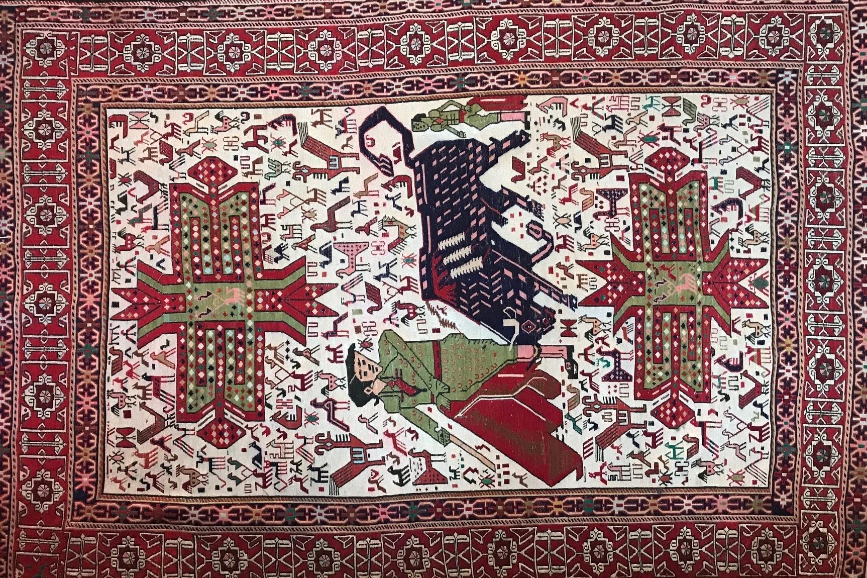 Martin Sheen Spanish Rug - Martin Sheen's Spanish rug donated by the Sheen family. 6 × 4'Priceless valueStarting bid $80