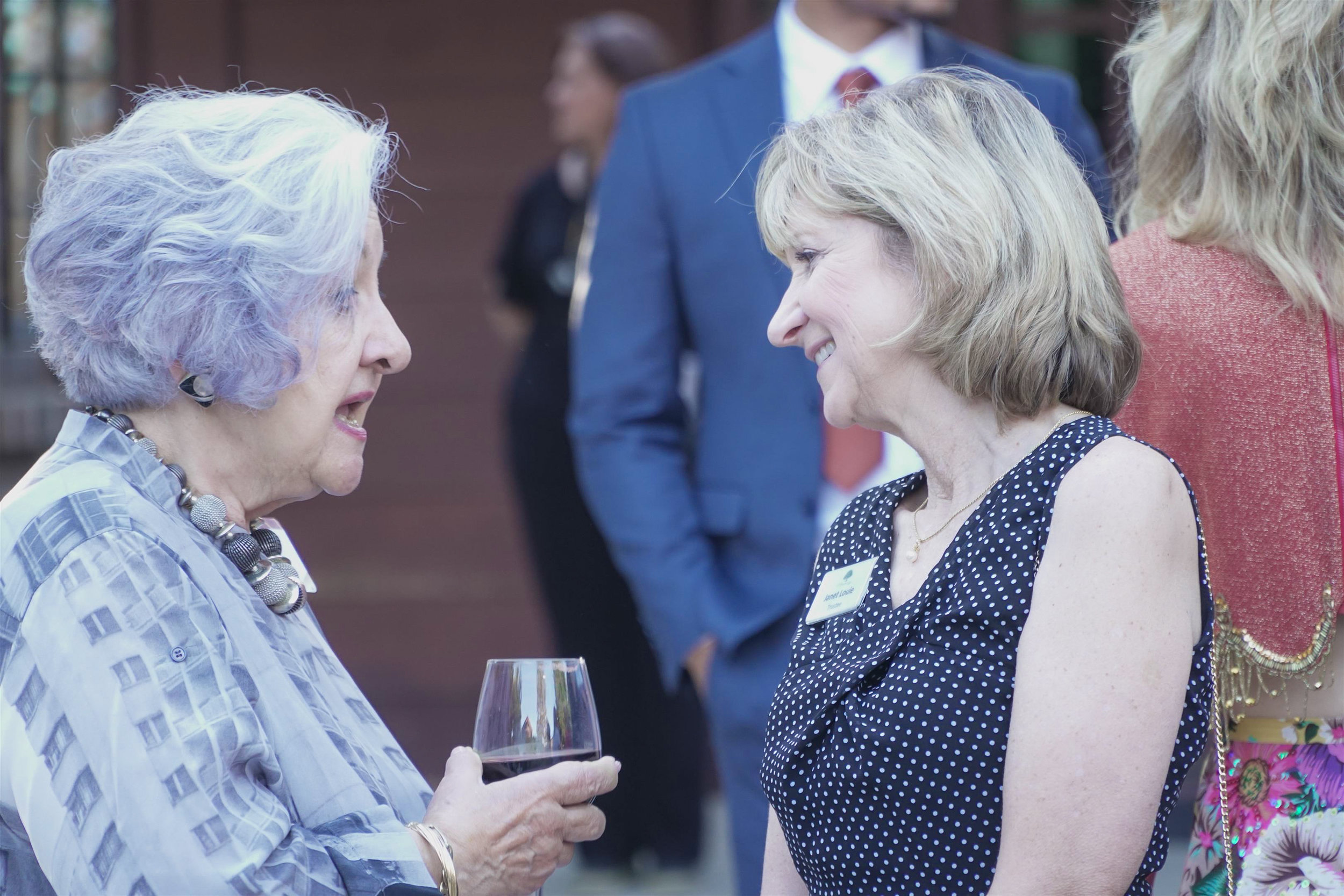 Trustee & Guest Mingling
