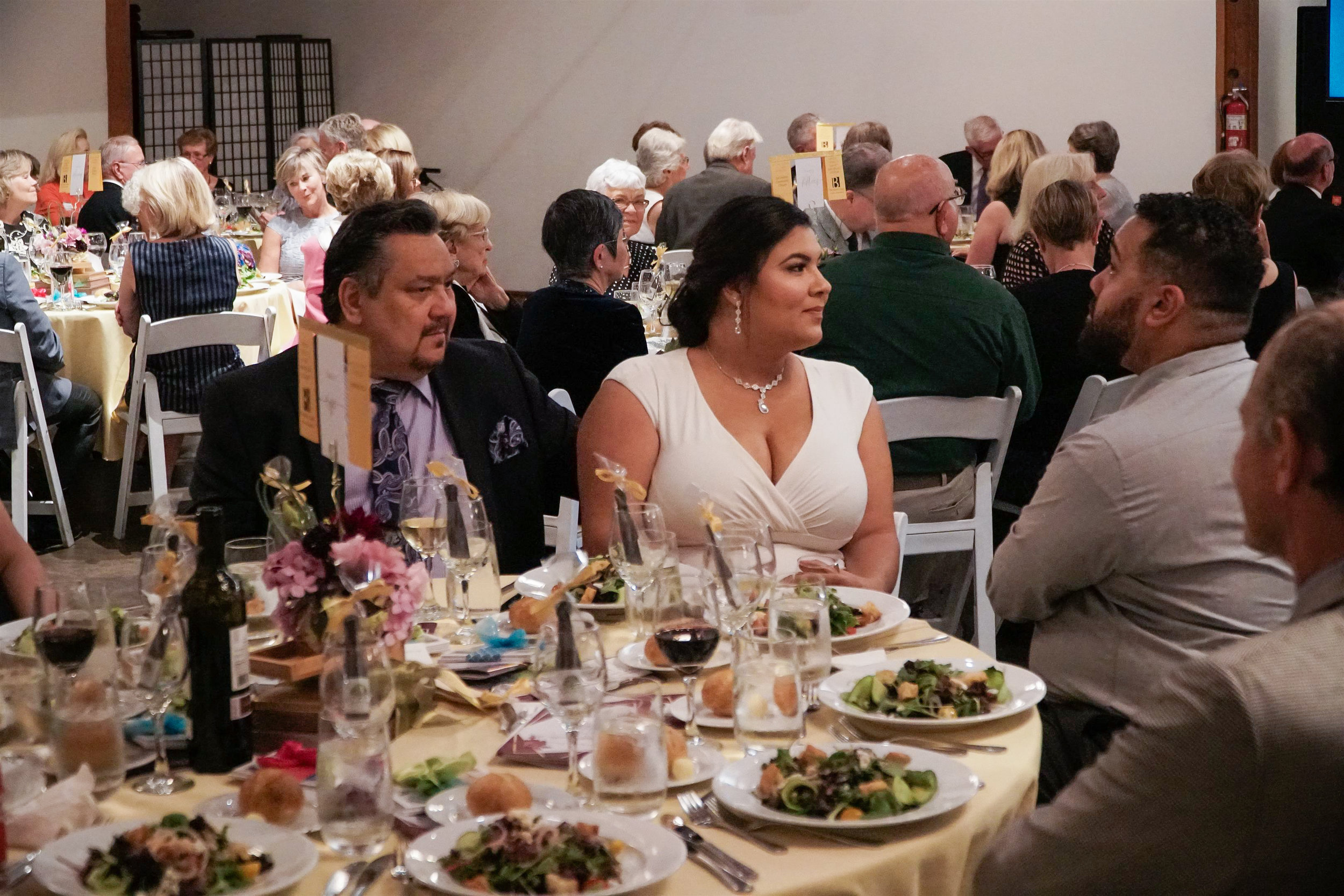 Guests pictured during the Gala dinner