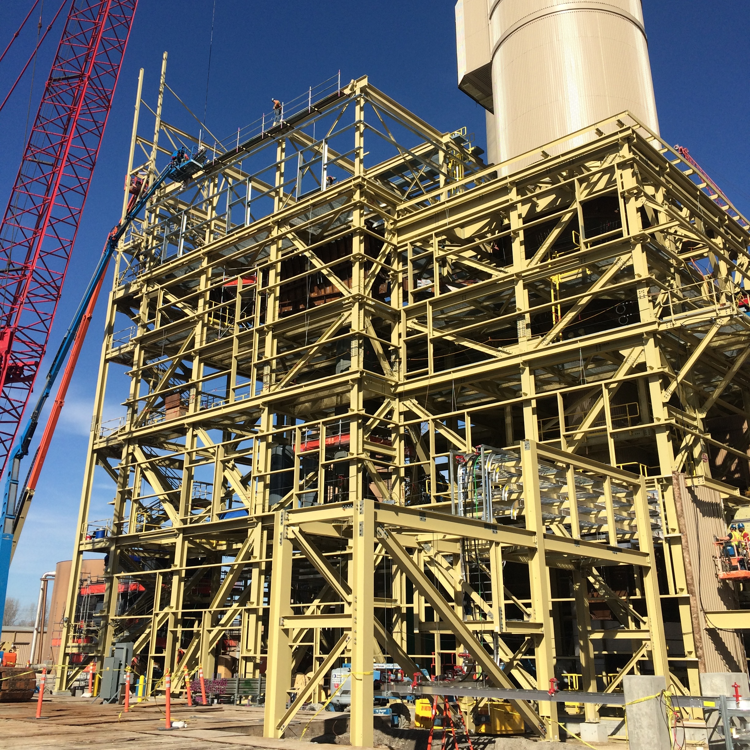 Structural Steel - AISC Advanced Certified Erector, structural steel erection, modular piperack, pre-engineered buildings, in-house specialty rigging design and execution
