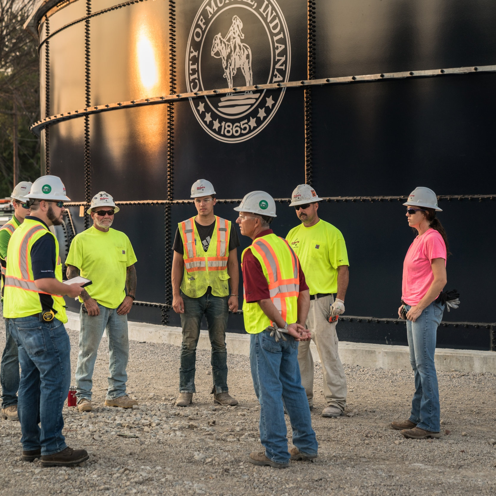 Our Safety Program is Built on Genuine Concern for Others, and Excellent Communication. -