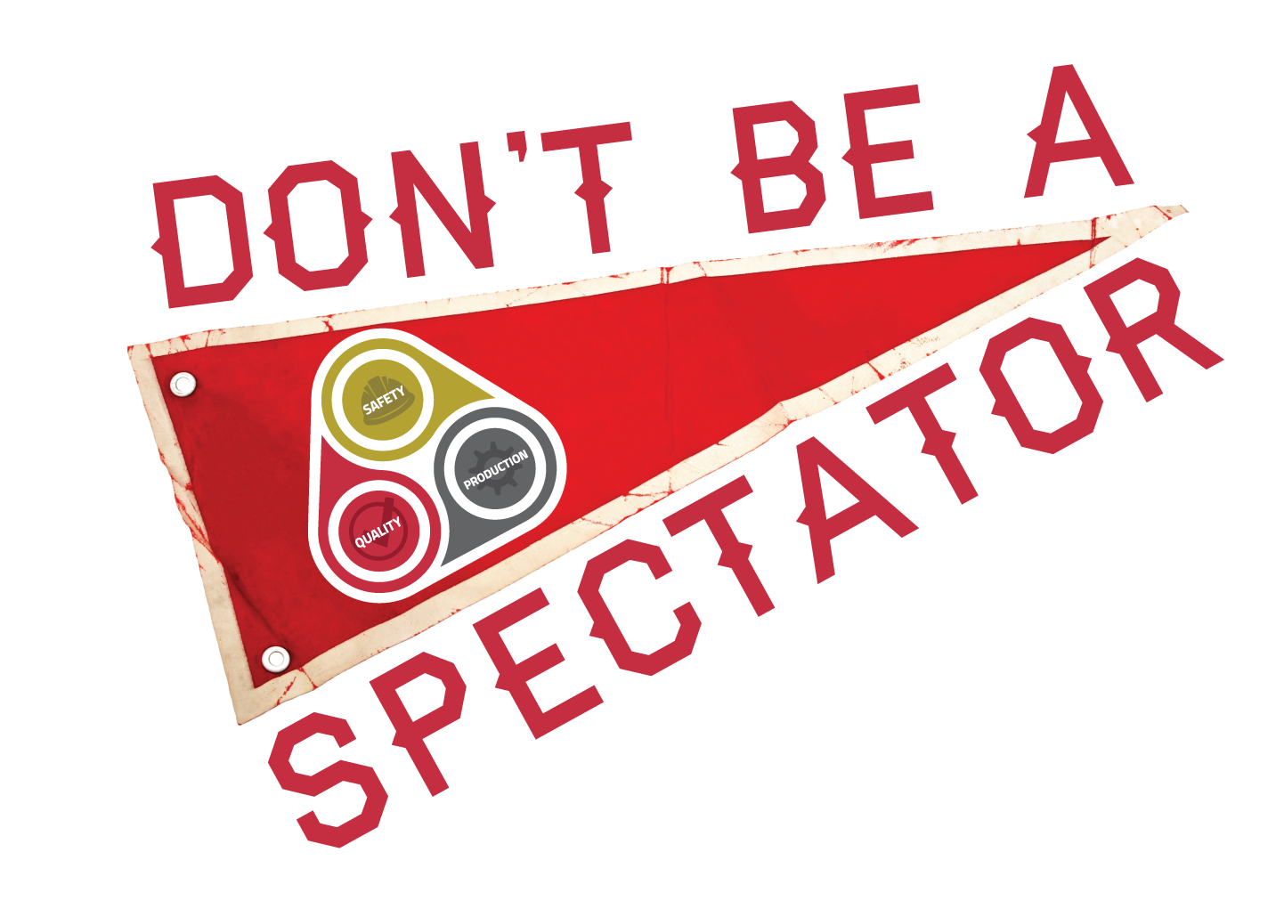 The 'Don't Be A Spectator' Program is designed to drive daily personal commitment, and active communication of Safety, Quality and Production within the organization.