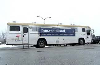 Bowen donated over 75 units of blood in the past year with regular visits from the Indiana Blood Center.