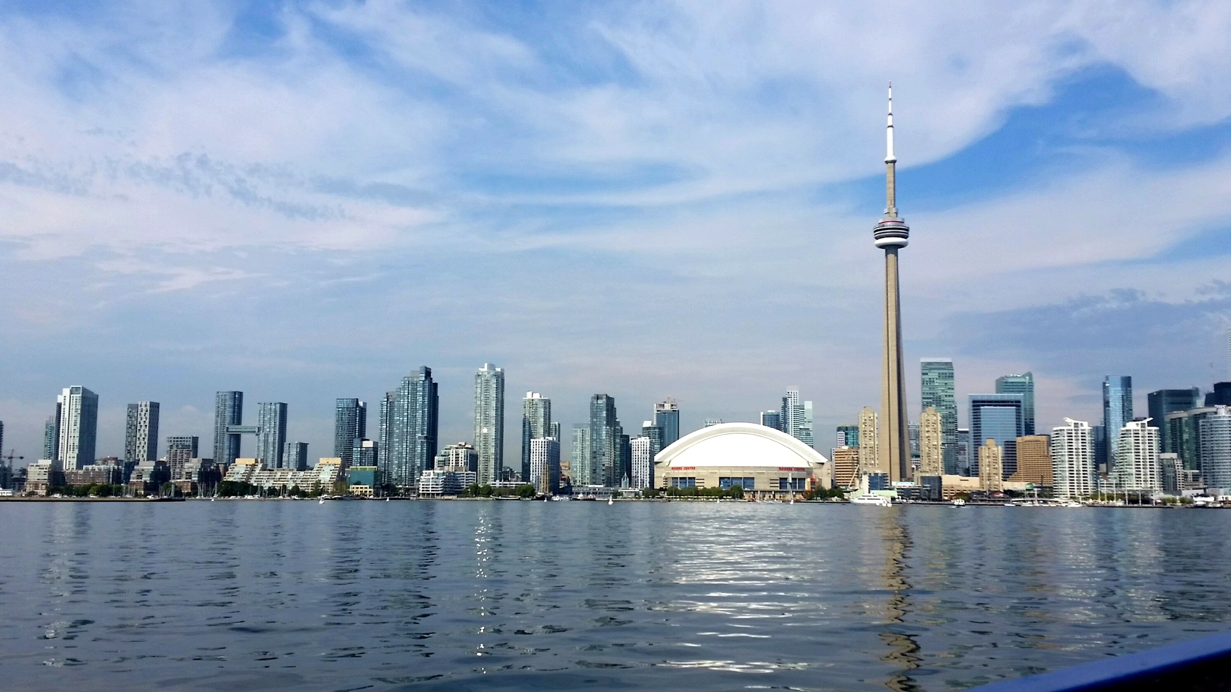 """Stunning Toronto in the summer. """"Don't come in winter"""", I was regularly told."""