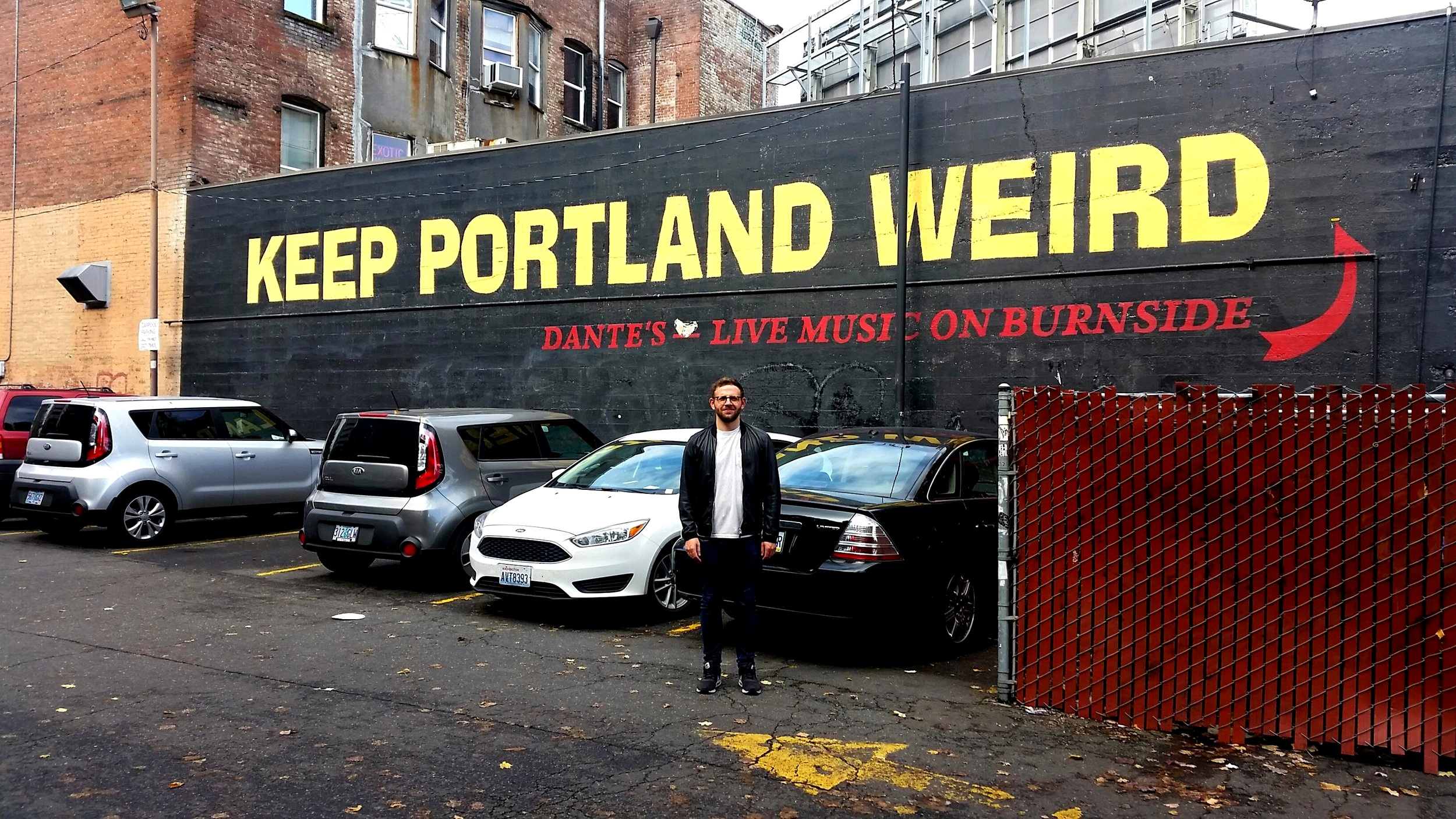 Inadvertently doing our bit to prevent Portland staying weird.