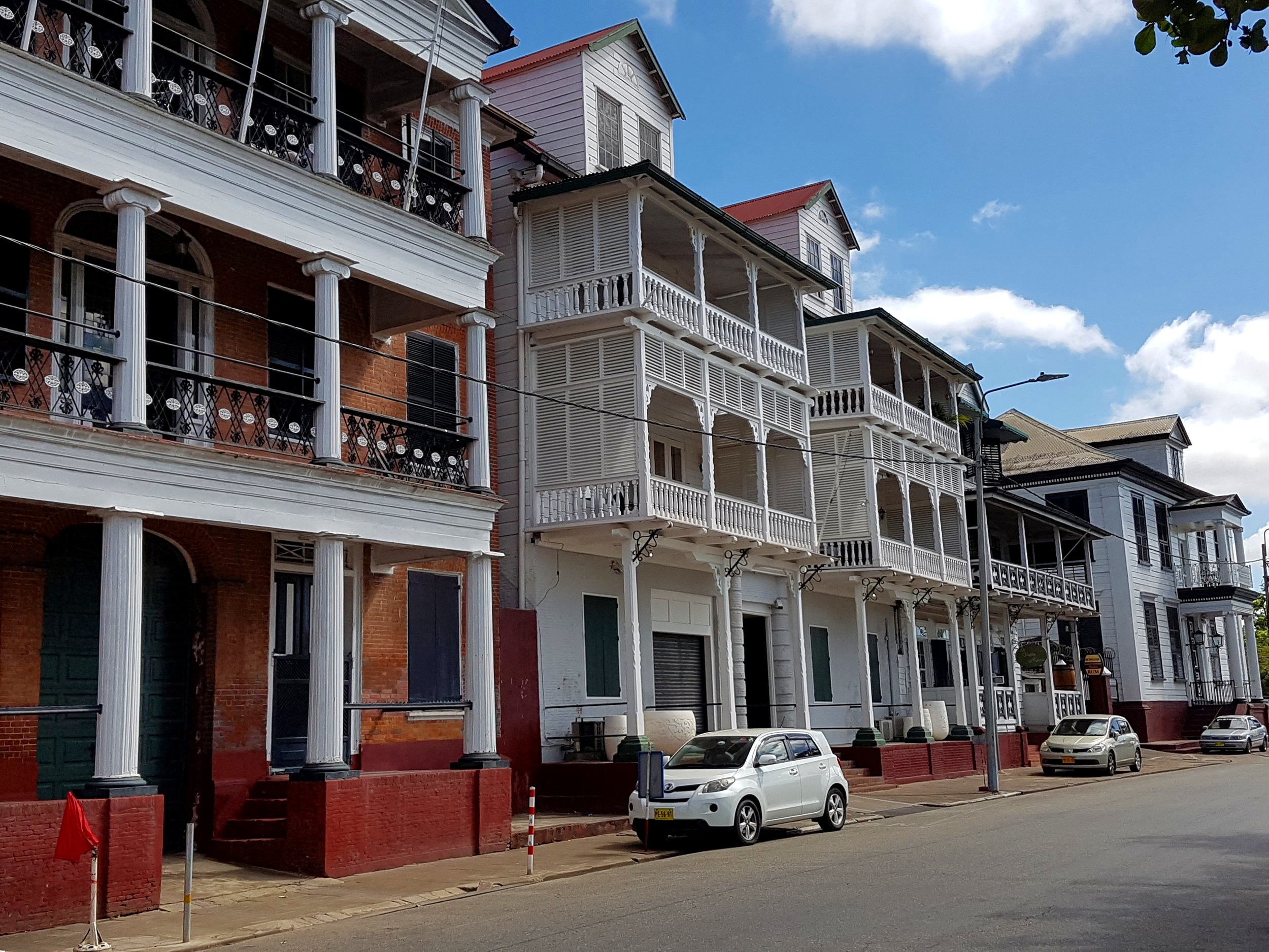 Dutch architecture in Paramaribo.