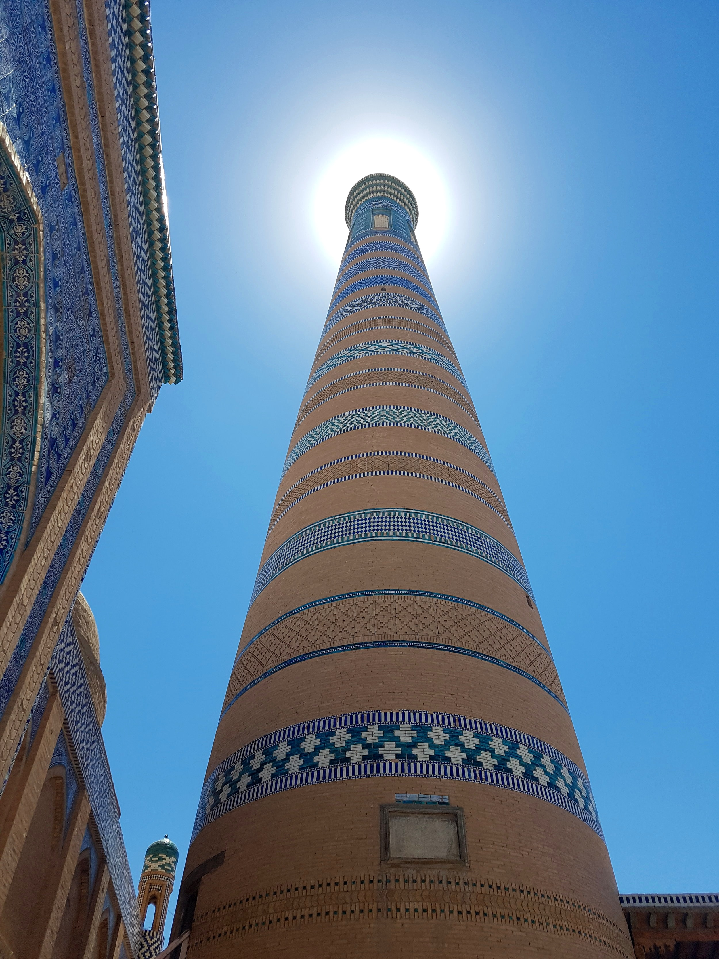 """What a brilliant photo"", you just thought. And you would be right. Old Town in Khiva."