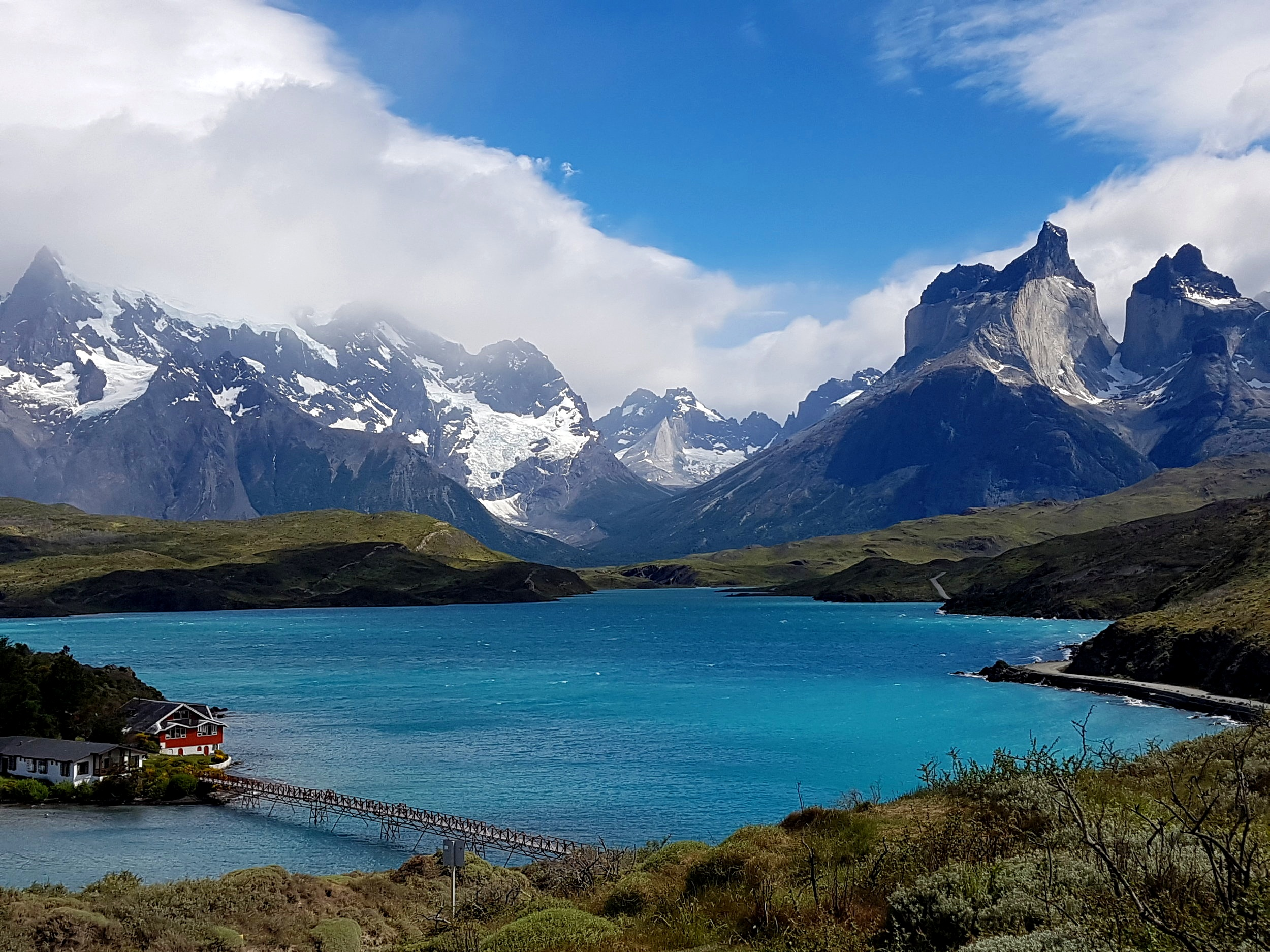 Patagonia. A beautiful part of Chile, not just a clothing brand for insufferable, coffee loving, vegetarian, millennials in London, like me.