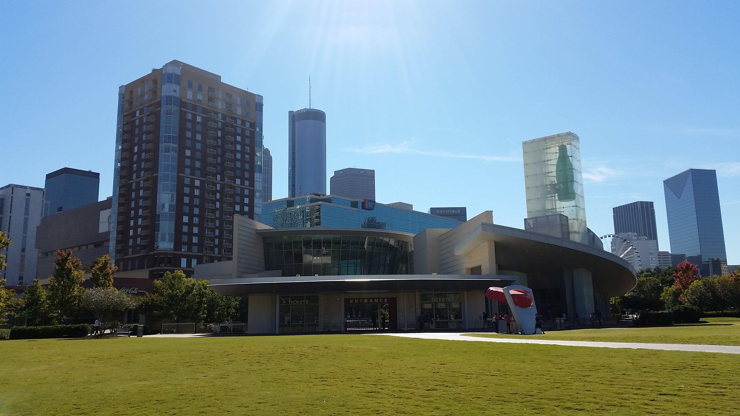 The Atlanta Skyline.