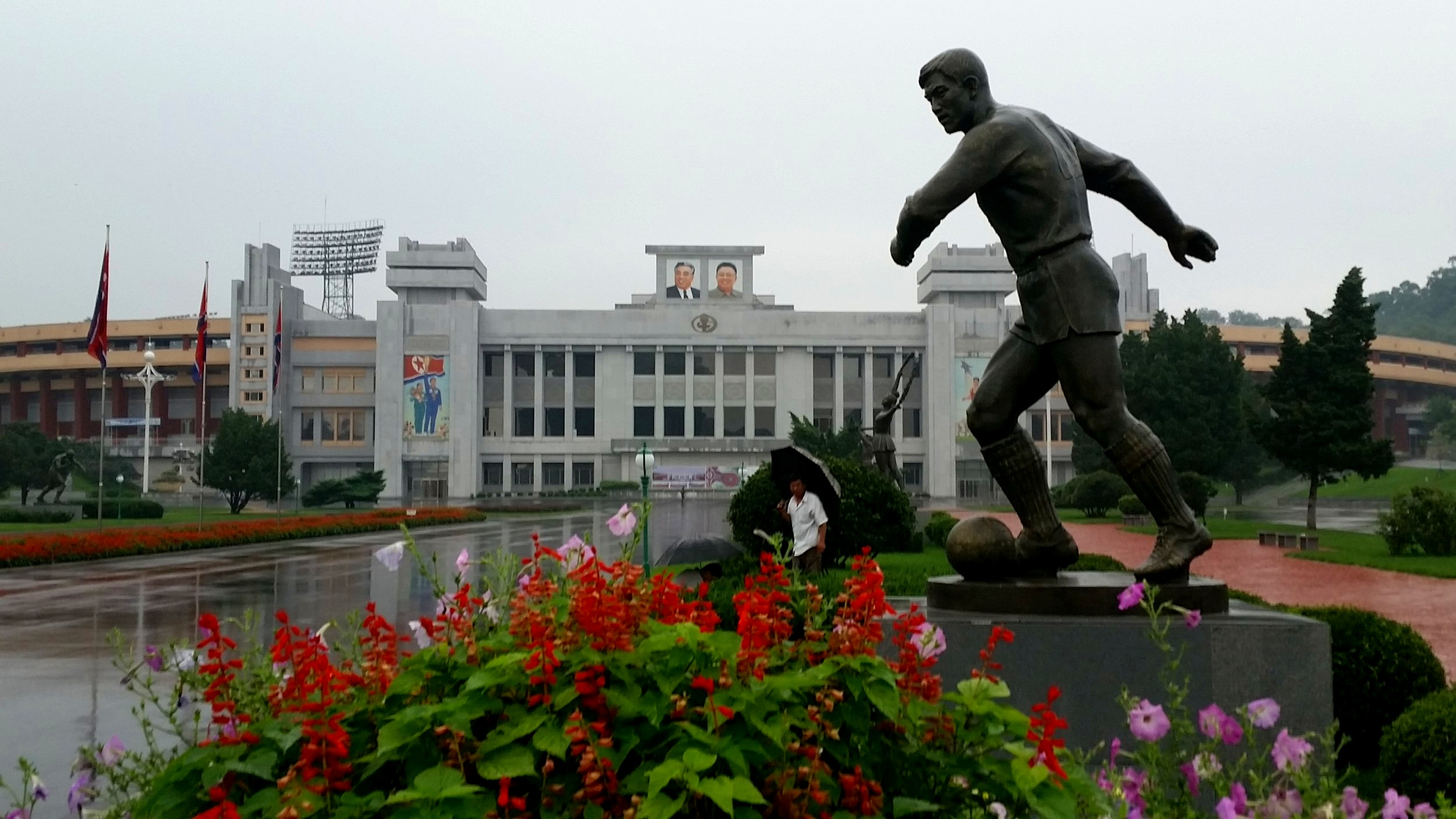 North Korea's sporting history is rich. It has, and has always had, the best national football team in the world. At least thats what people here probably think.