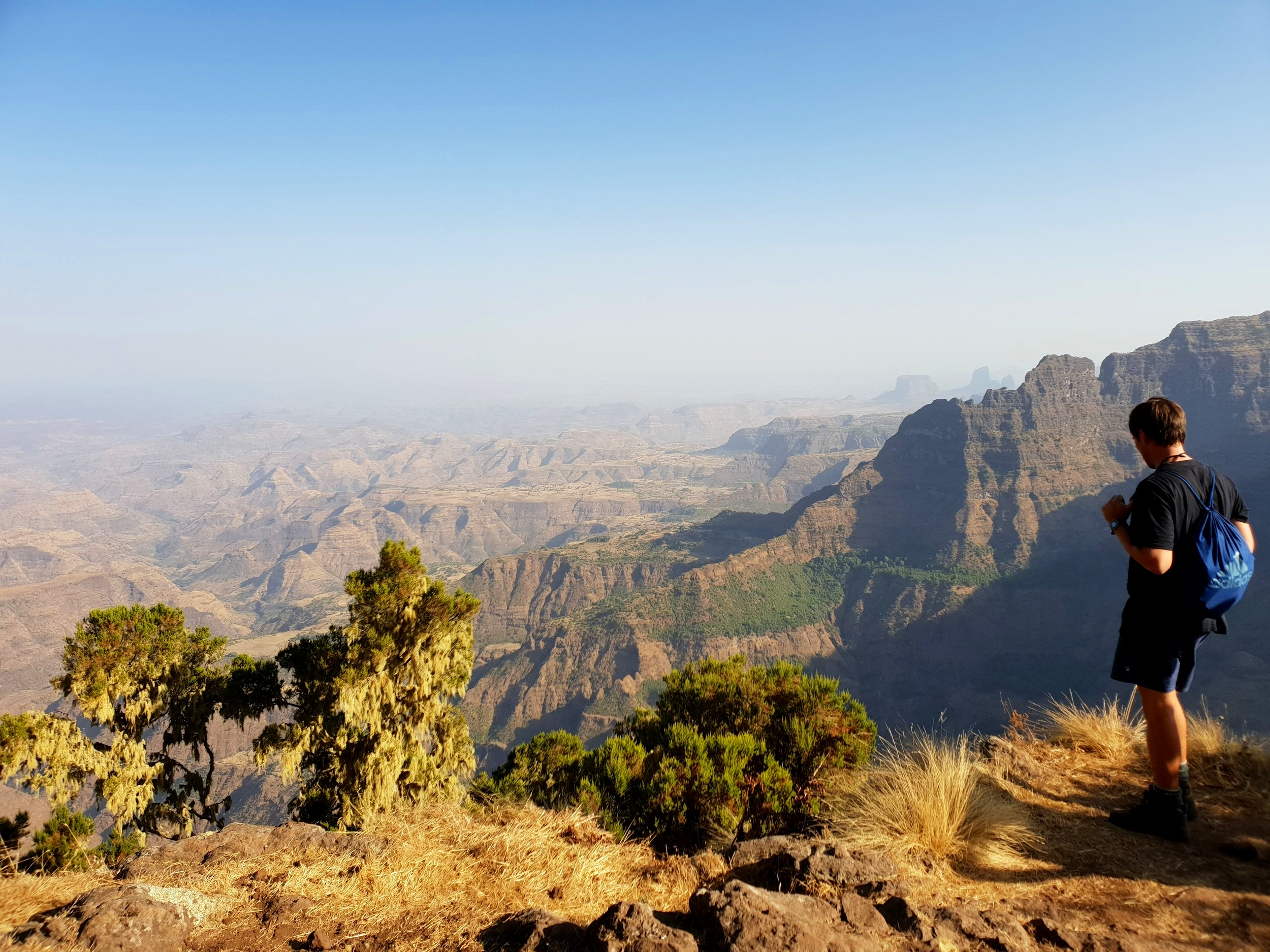 The spectacular Simien Mountains.