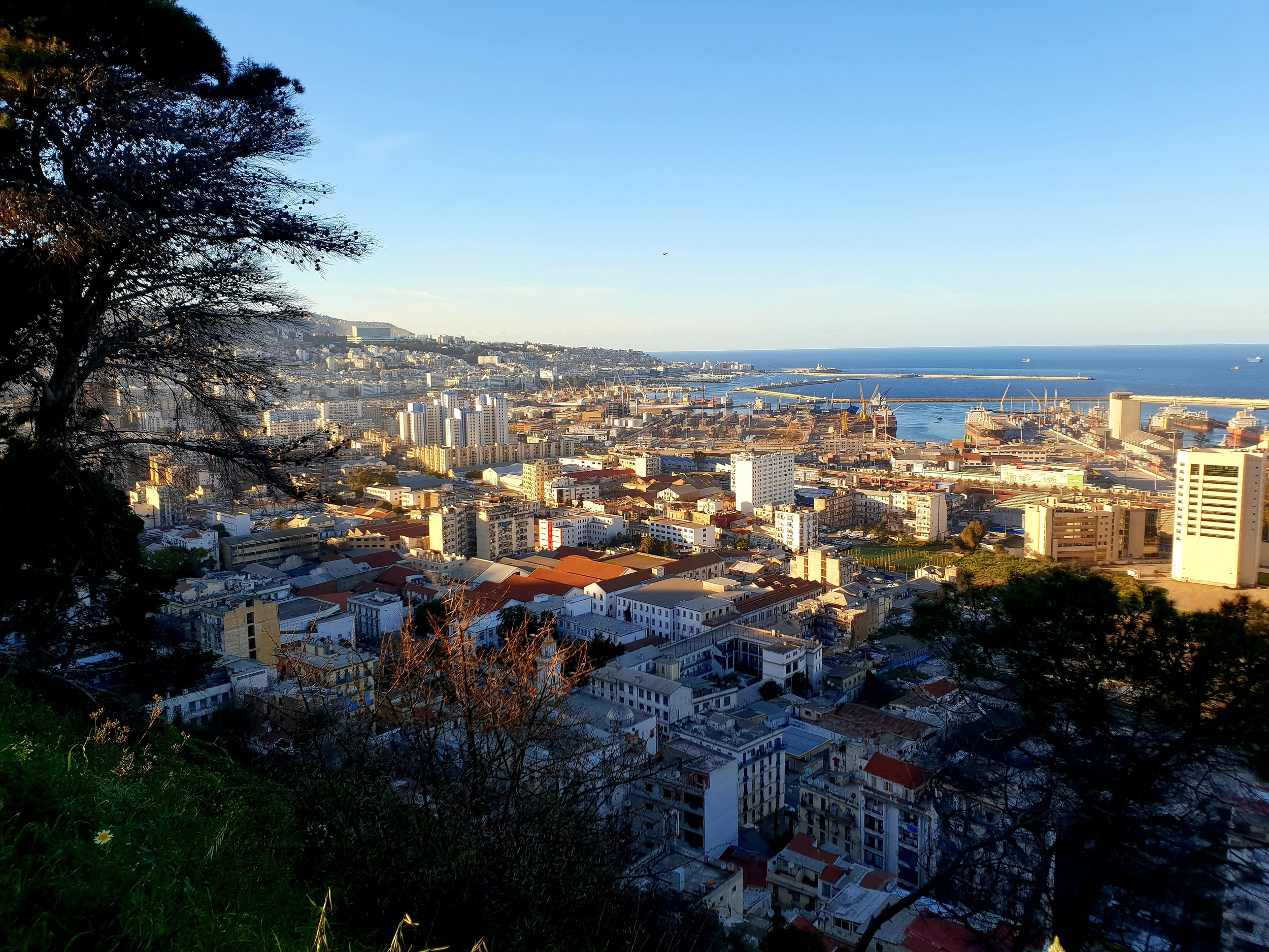A panoramic view of Algiers.
