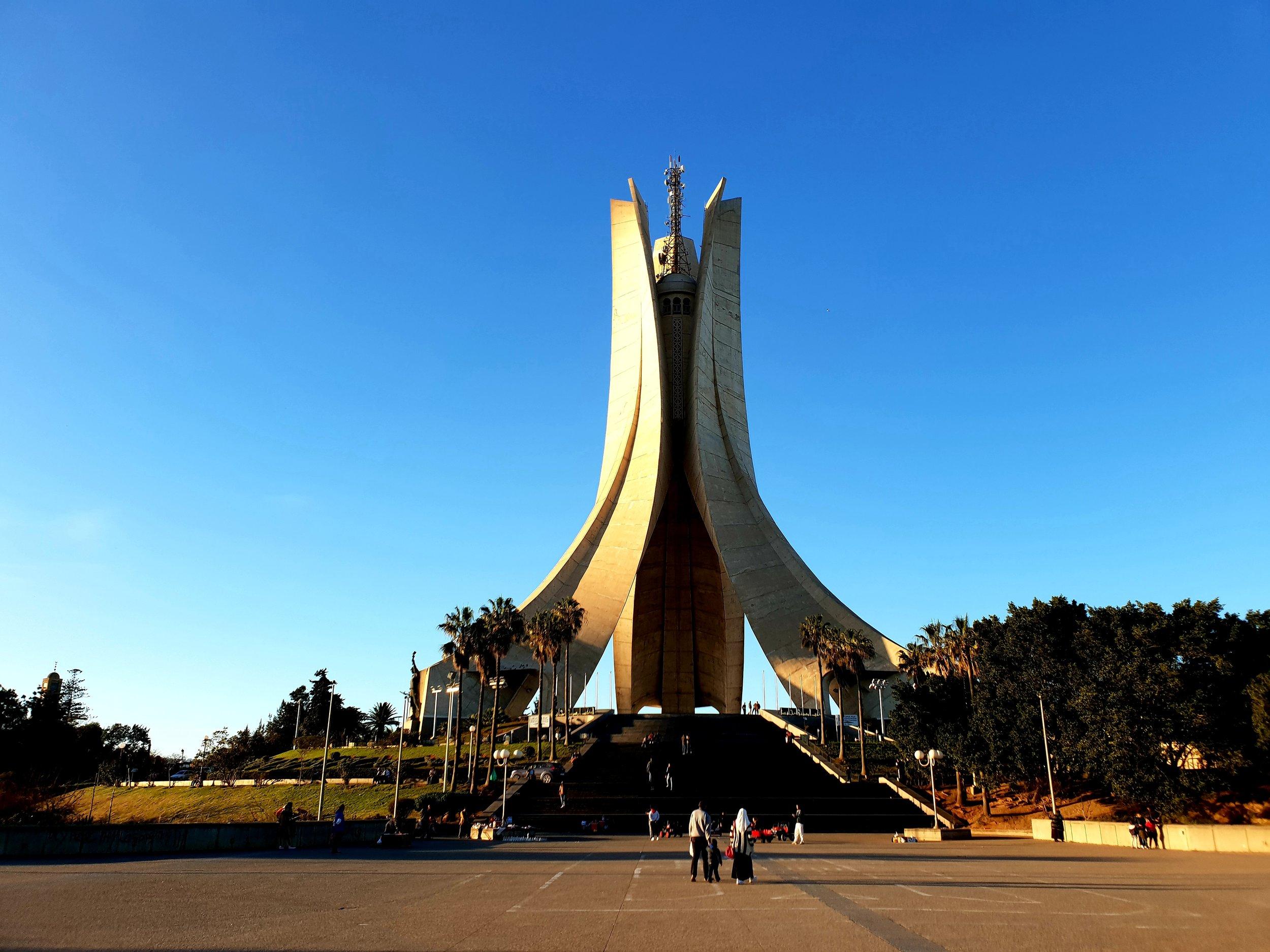 Martyrs' Memorial, Algiers.