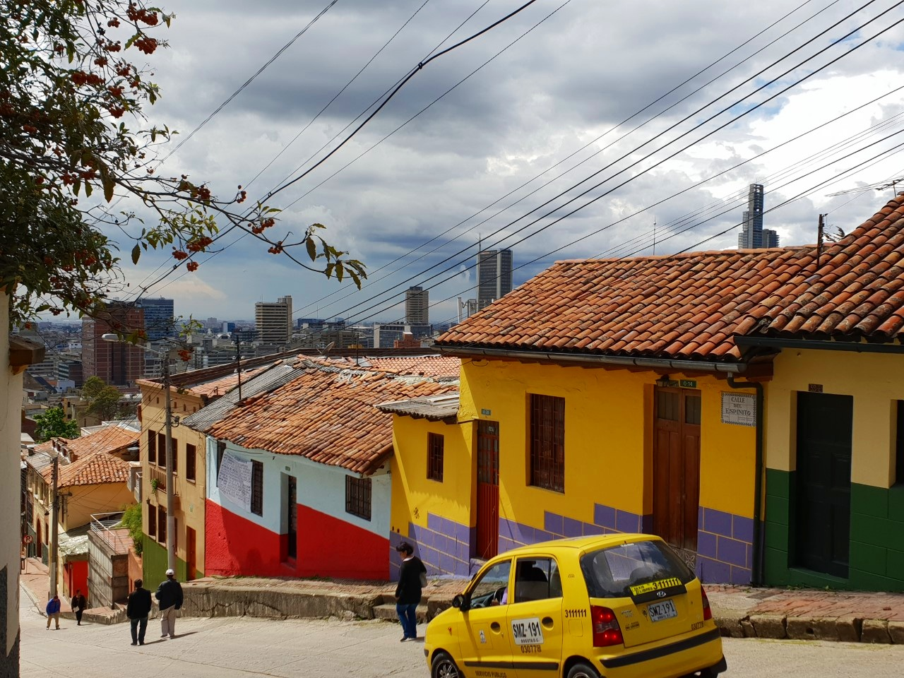 If you can ignore the fact that the city's name has 'bog' in the title, colourful Bogota is impressive.