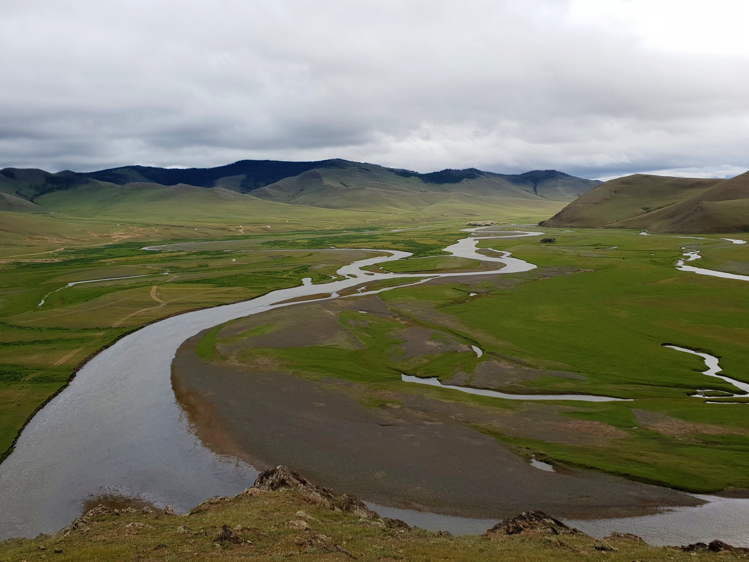 When the weather was poor, which fortunately it wasn't for most of the trip, Mongolian scenery is similar in parts to Iceland or the Faroe Islands.