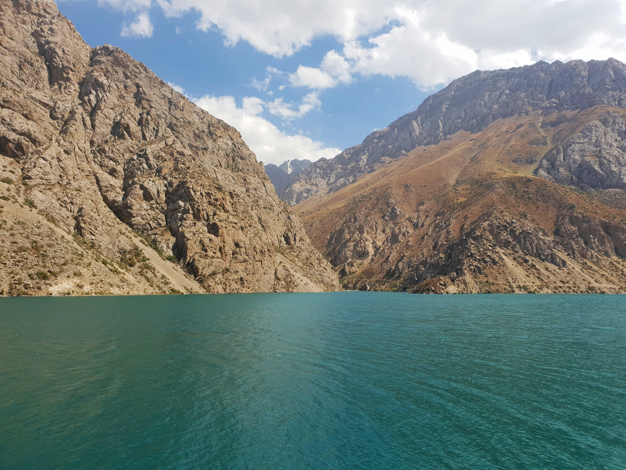 Stunning scenery like this is commonplace in Tajikistan. The peak in the second photo, taken in the 'Seven Lakes' region, is well over 6,000 metres. Or around five times the height of the UK's tallest 'mountain', Ben Nevis.