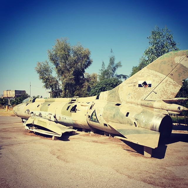 📌 Country 140 - Iraq. This large metal bird was, like all weapons, designed solely to end the lives of a group of strangers who hold views they don't like. It was used to facilitate a chemical weapon attack against the Kurdish people on March 16 1988 in Halabja. 5,000 people were killed. Given current events in the region, visiting the museum had extra poignance.
