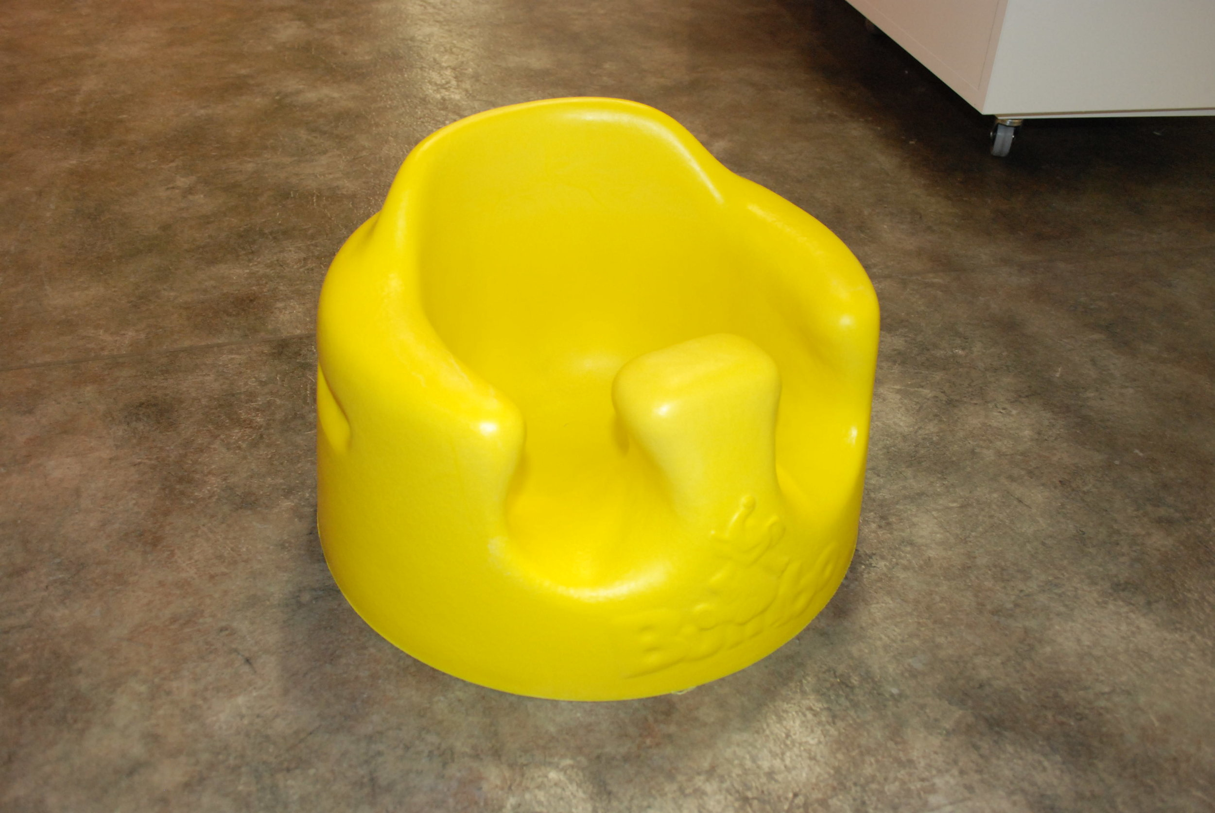 Bumbo seats create a week spine