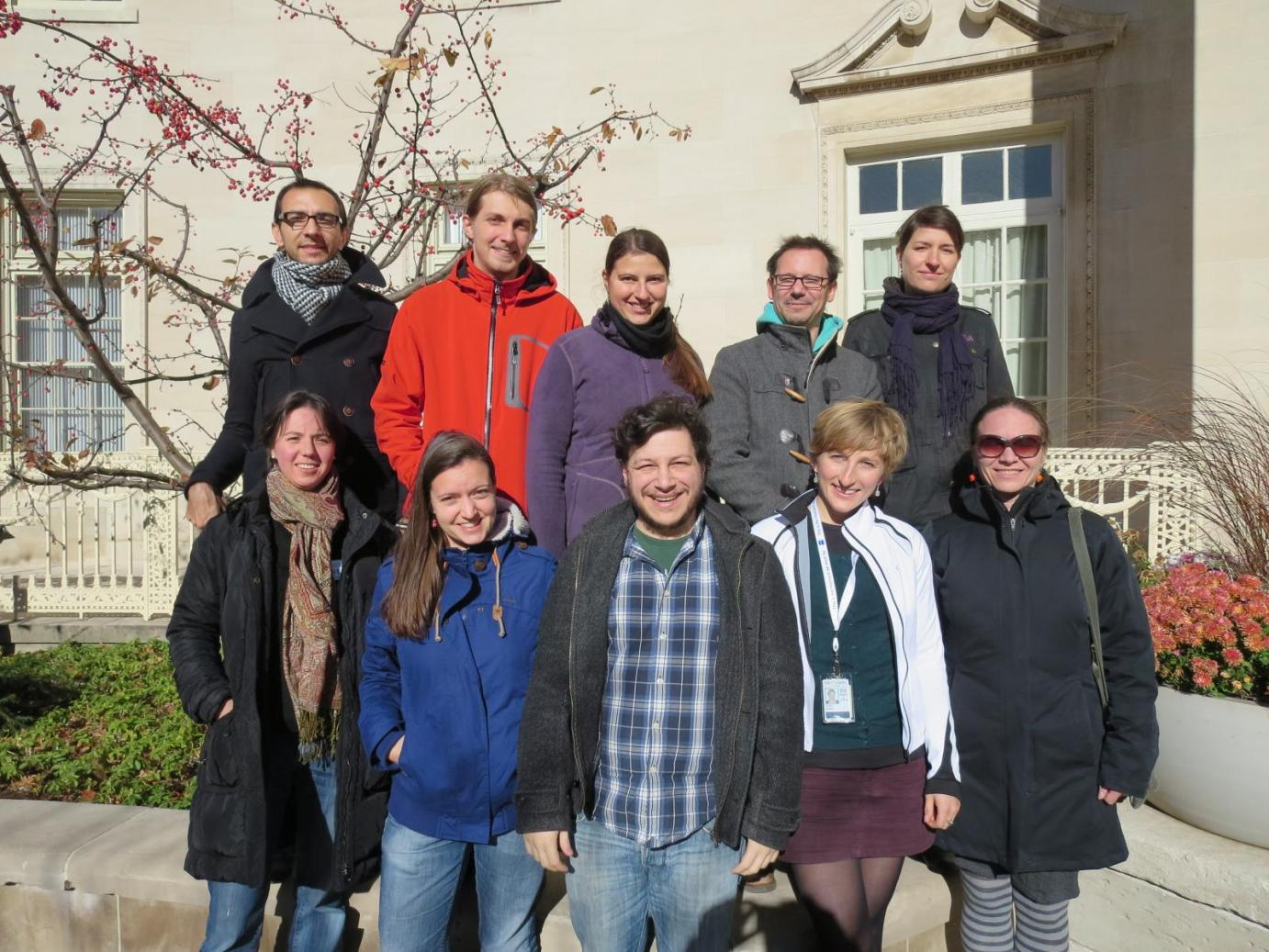 Lab Group Photo November 2013