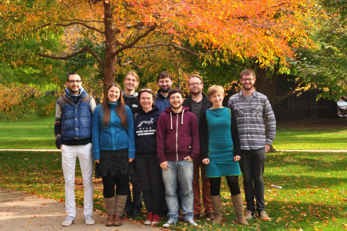 Lab Group Photo September 2014
