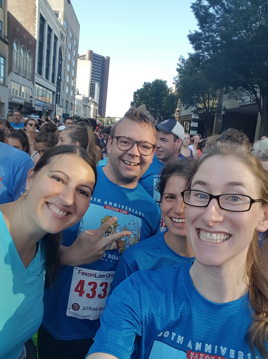 September 2017 New Haven Road Race