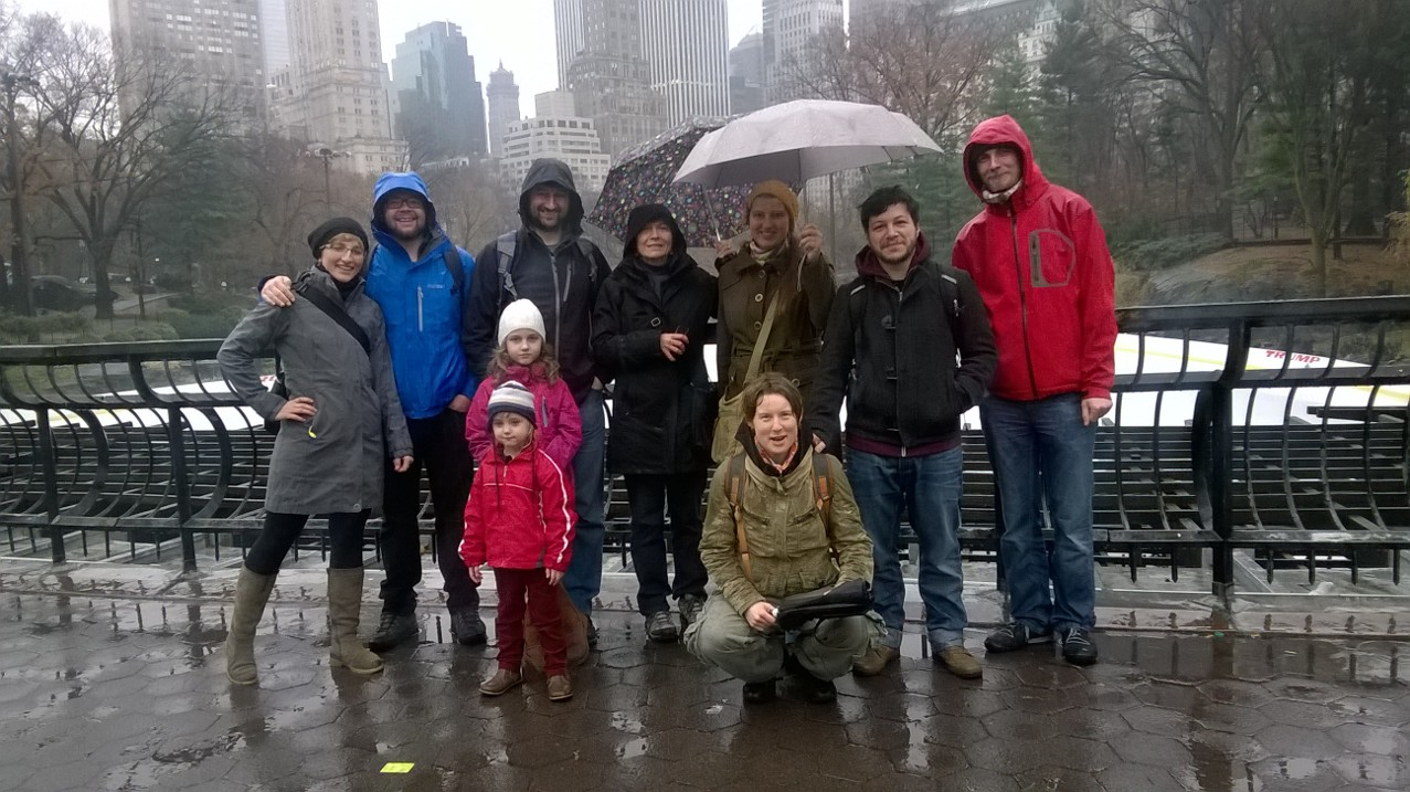 Lab Group Photo December 2014 NYC