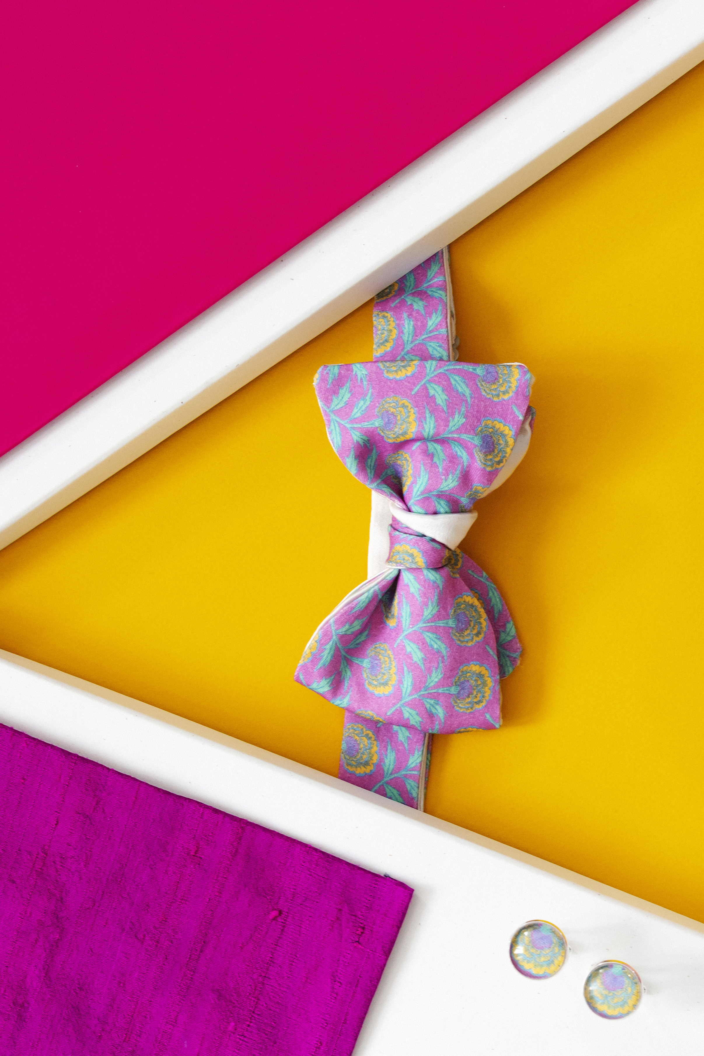 noeud papillon bollywood - j&t bow ties with attitude