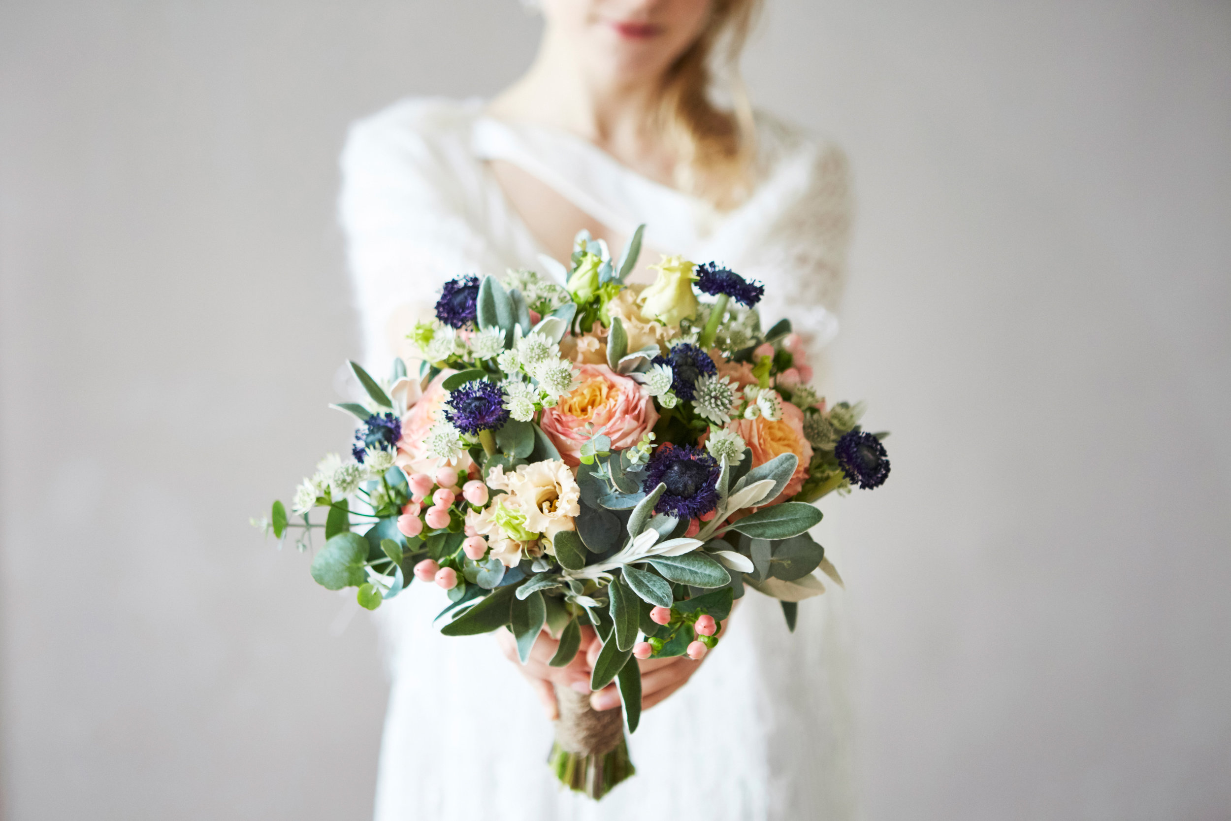 bride bouquet, french normandy wedding
