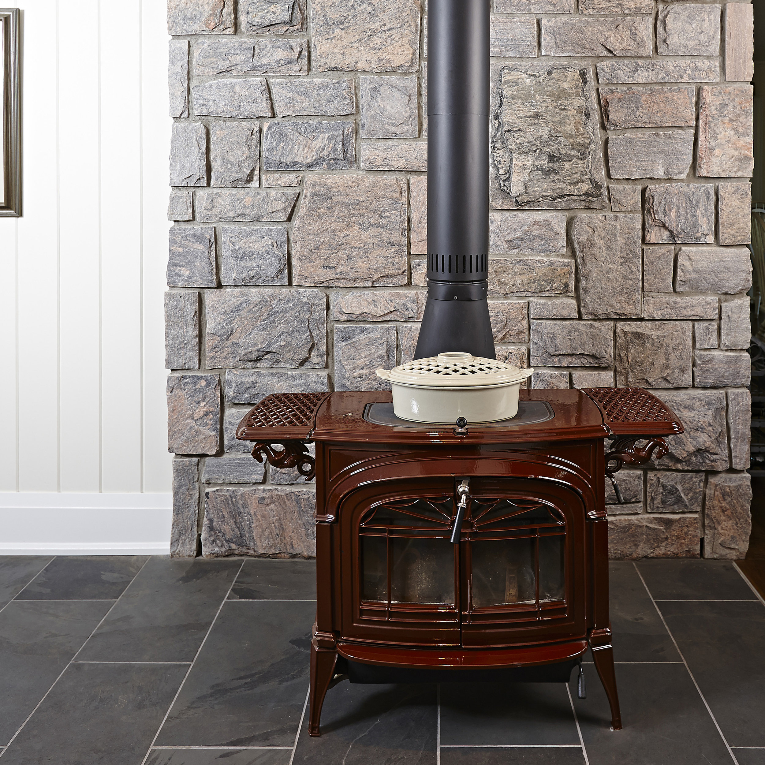 INTERIOR - Imagine the possibilities for your interior with a custom stone feature or installation. We bring your dreams to life with our one-of-a-kind designs that enhance the character and style of your home or cottage.