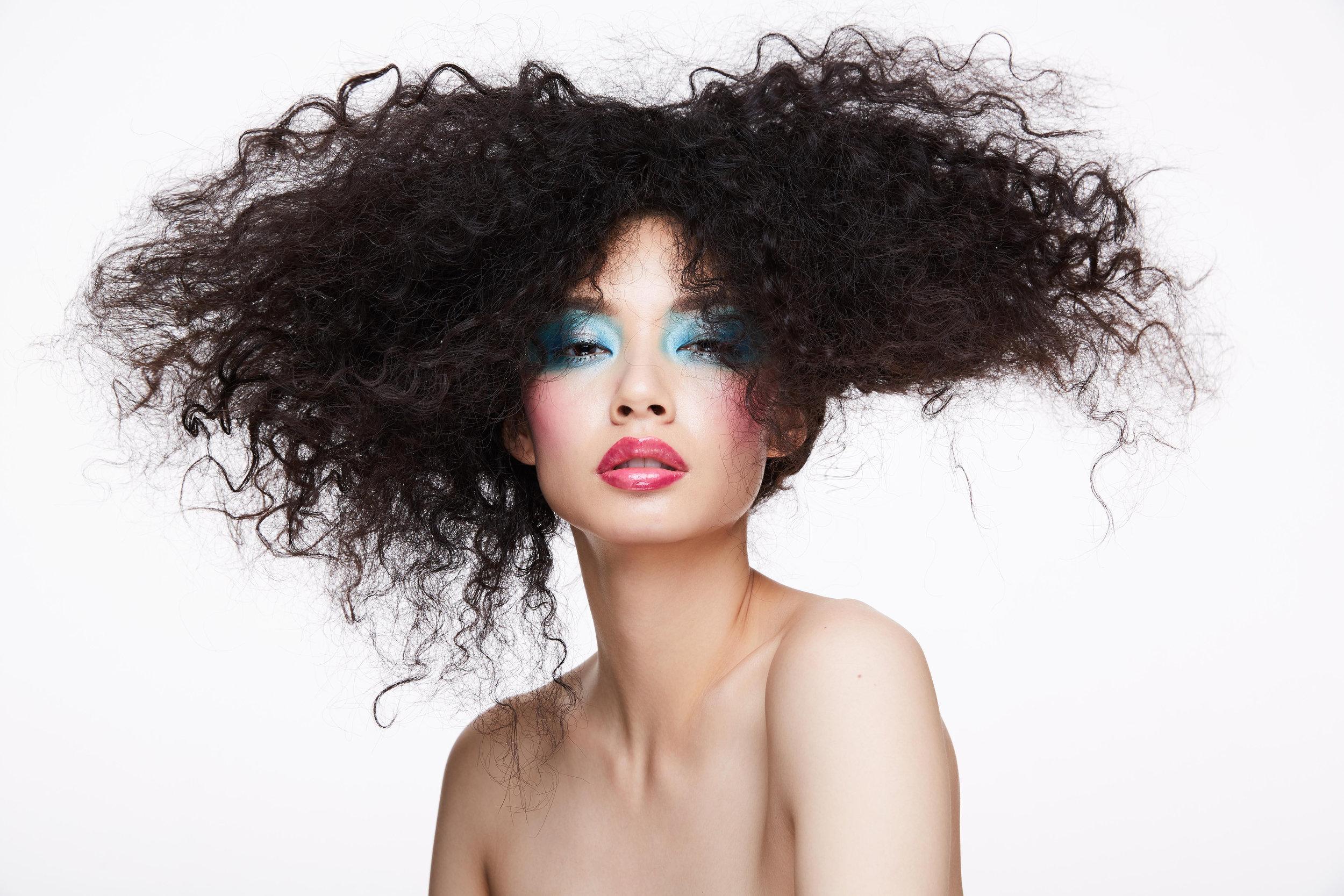 Hair by Dan Nguyen, Makeup by Niko. Shot by James Lee Wall.