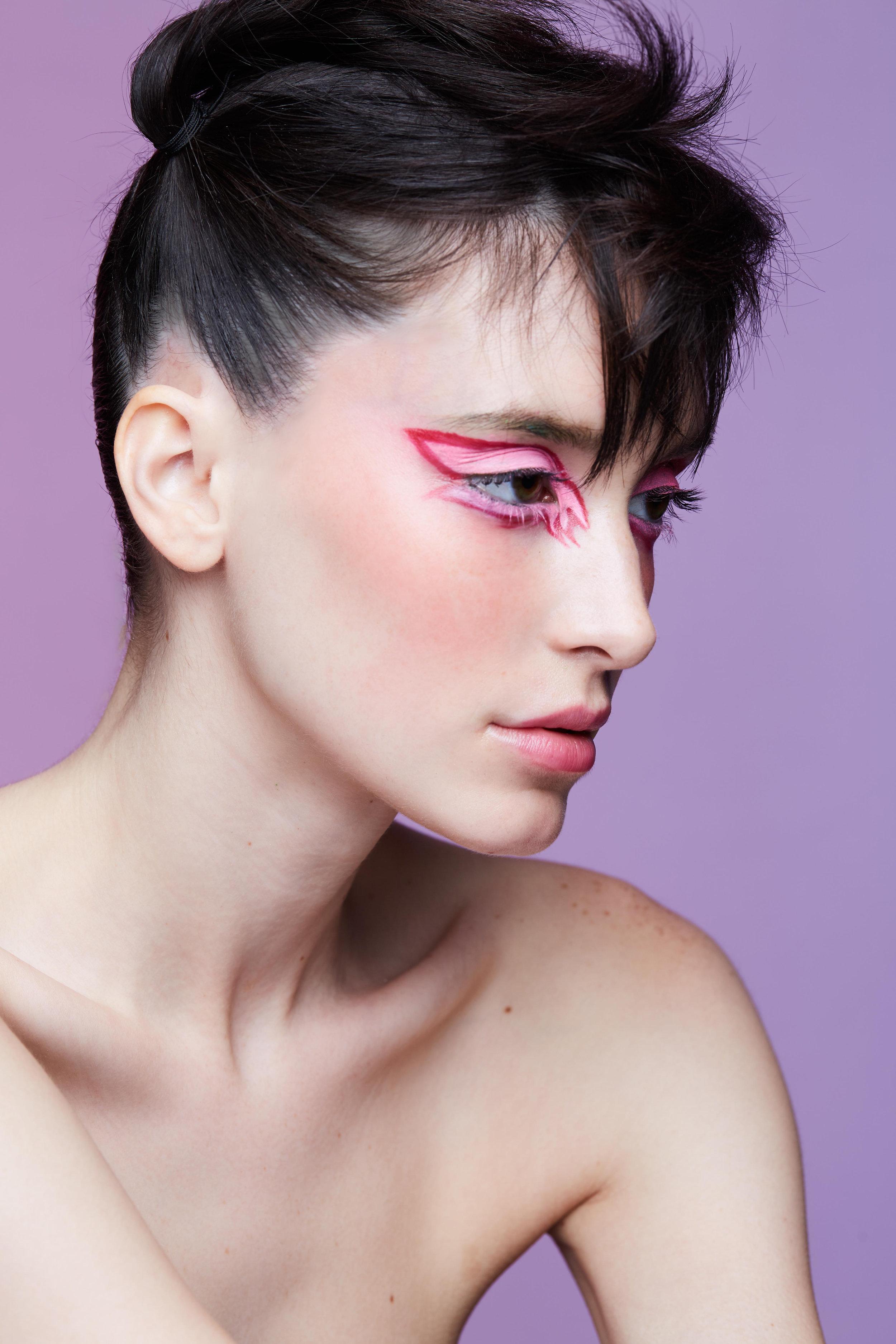 Hair by Dan Nguyen, Makeup by Sasha Safdiah. Shot by James Lee Wall.