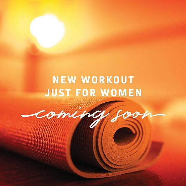 We are so excited to bring a ONE OF A KIND workout just for women to Bozeman!  Details coming soon 🔥