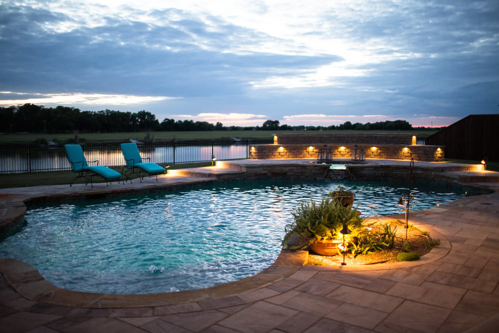 Concrete Pools - Concrete pools are great for customers that are looking to create a unique, durable and attractive pool.
