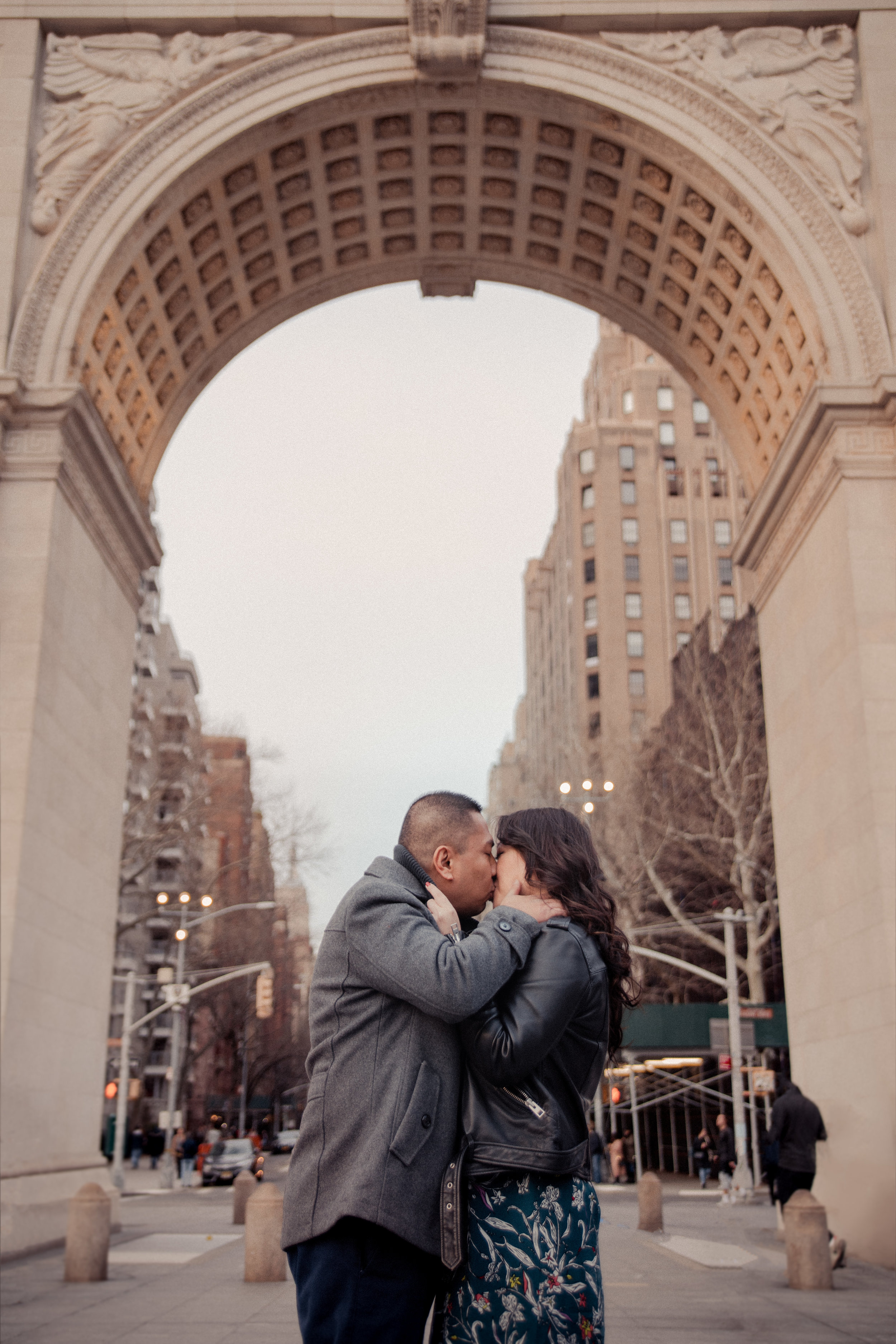 New York West Village Engagement by Kara McCurdy