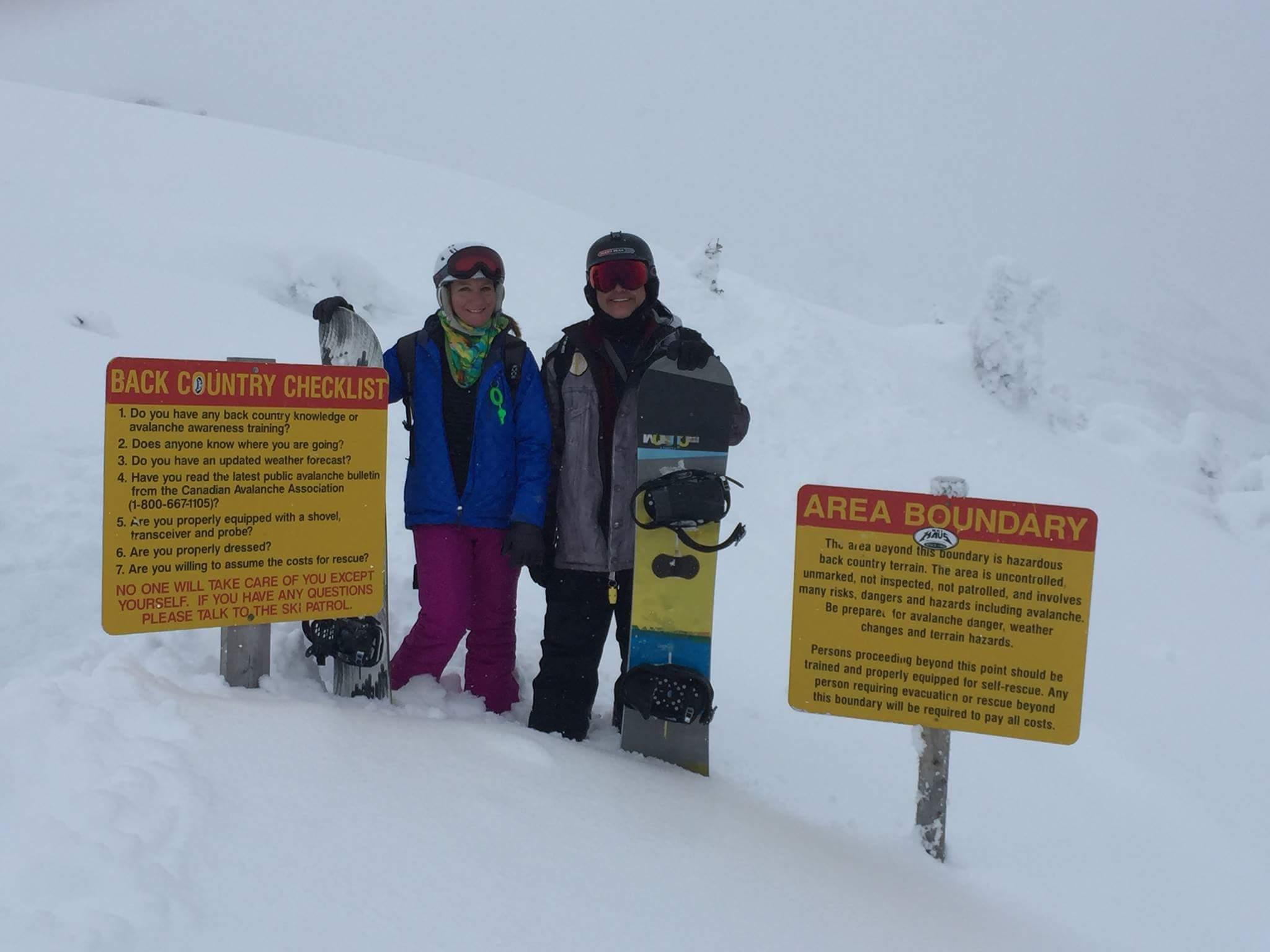 Jenny Leitch and fiance - snowboarding.jpg