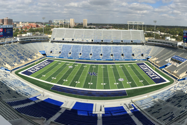 UK New Kroger Field - 36.7% energy cost savings30.0% reduction in water use