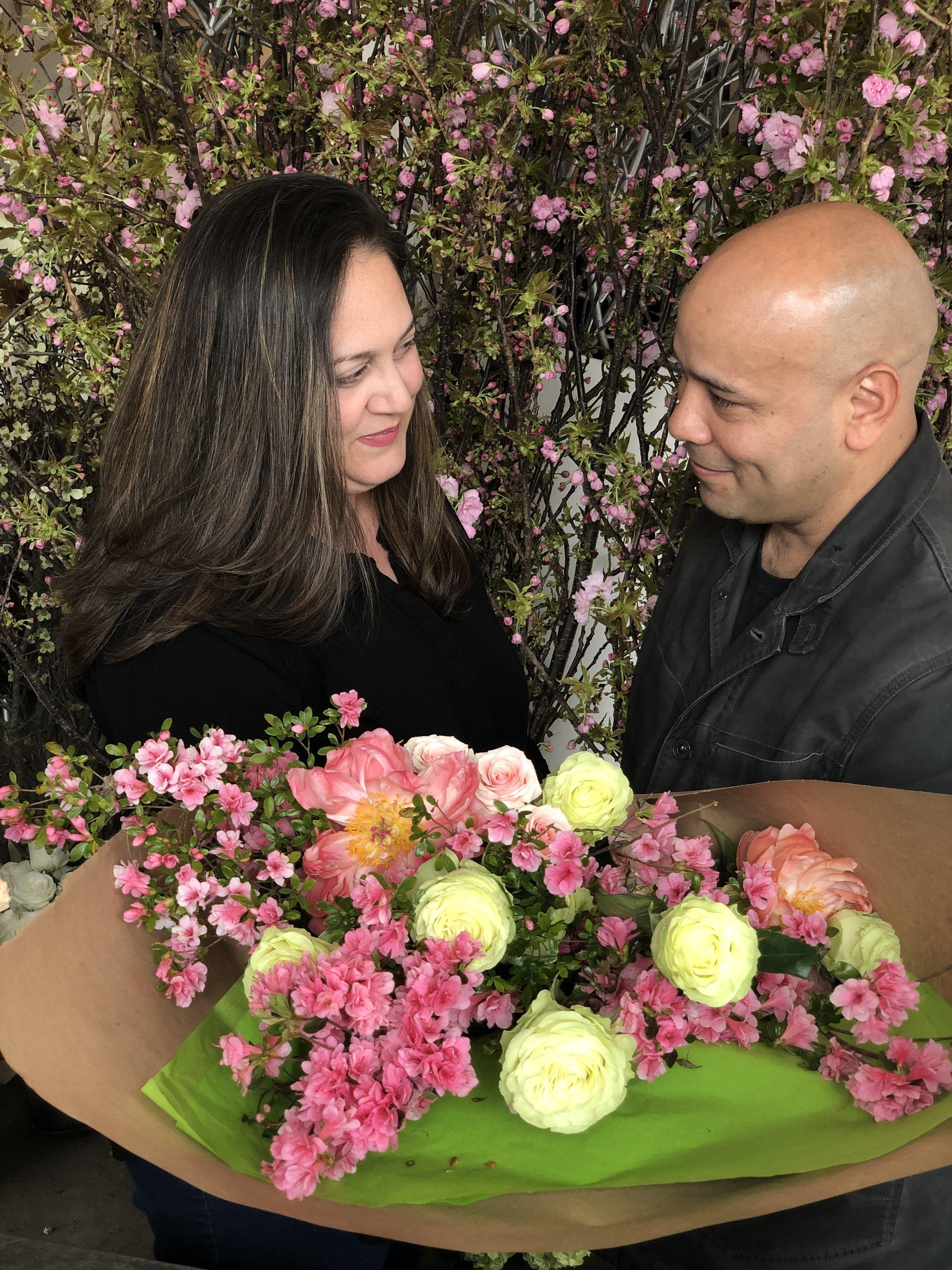 Verde Flowers Michael & Vanessa