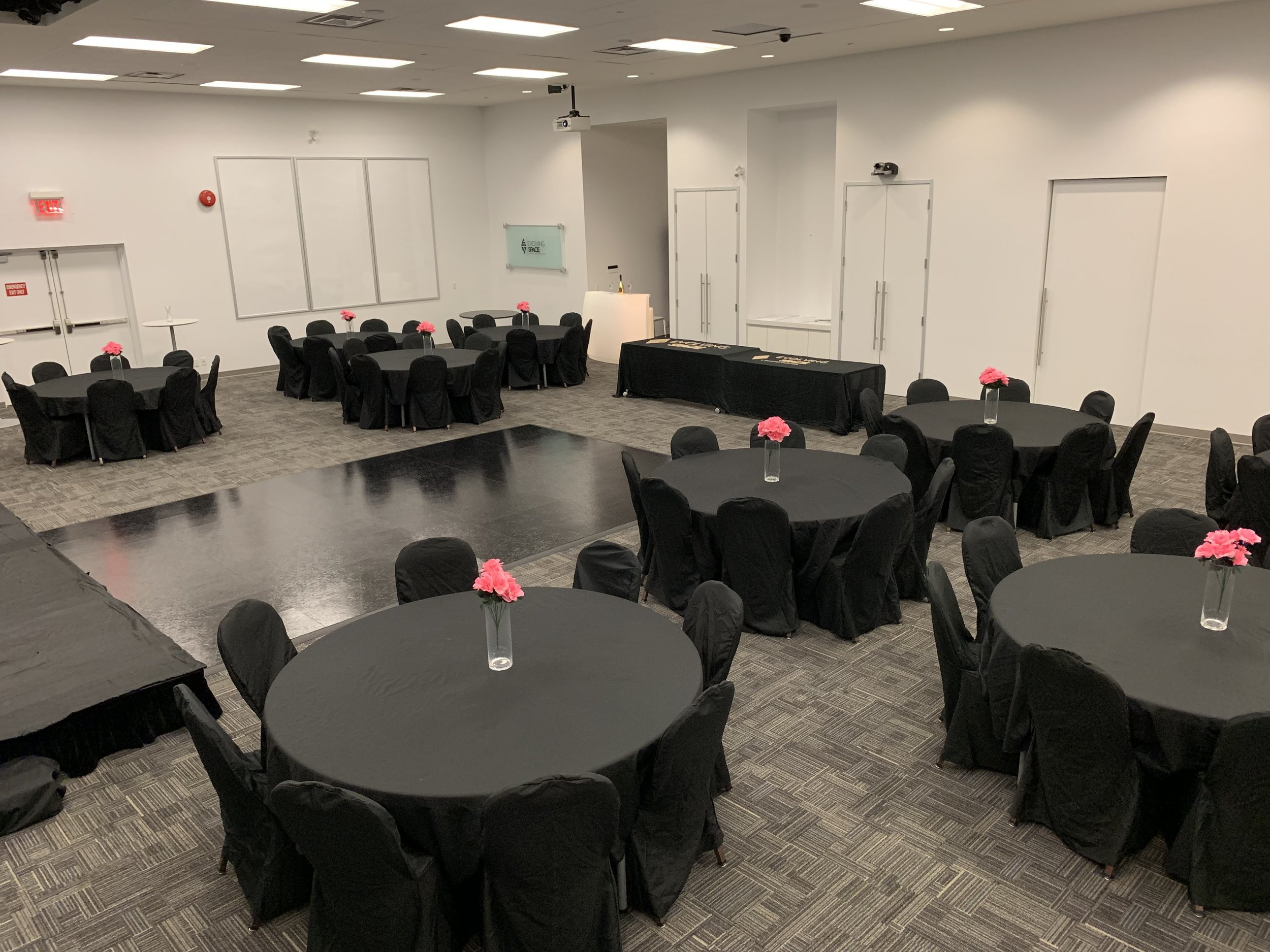 Madison Springs Conference Center - Celebrate your events with us! Our event room has capacity for 100 guests and has a standing capacity of 150 guests. This room is perfect for bridal showers, baby showers, birthdays, religious events, and more.